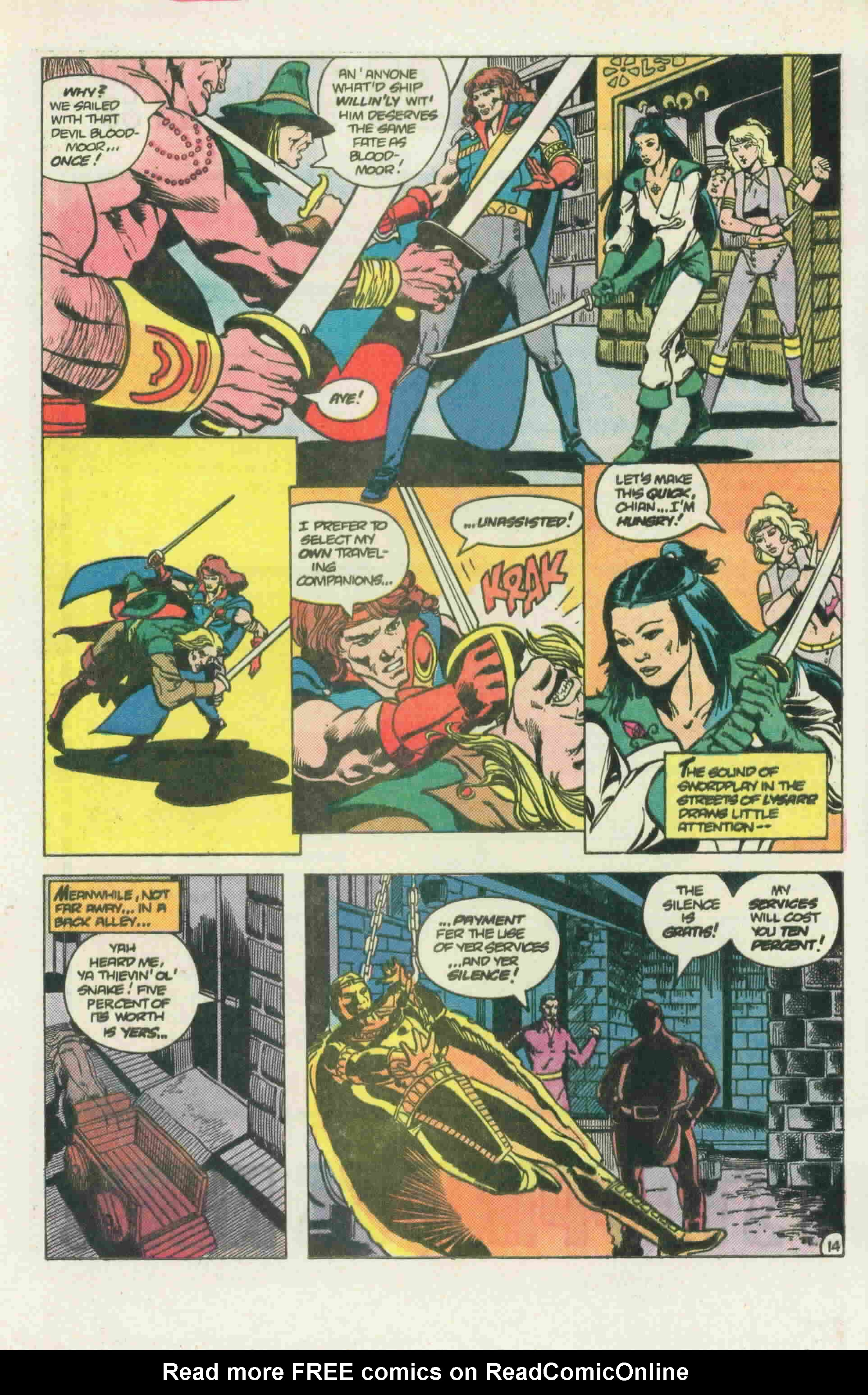 Read online Arion, Lord of Atlantis comic -  Issue #22 - 22