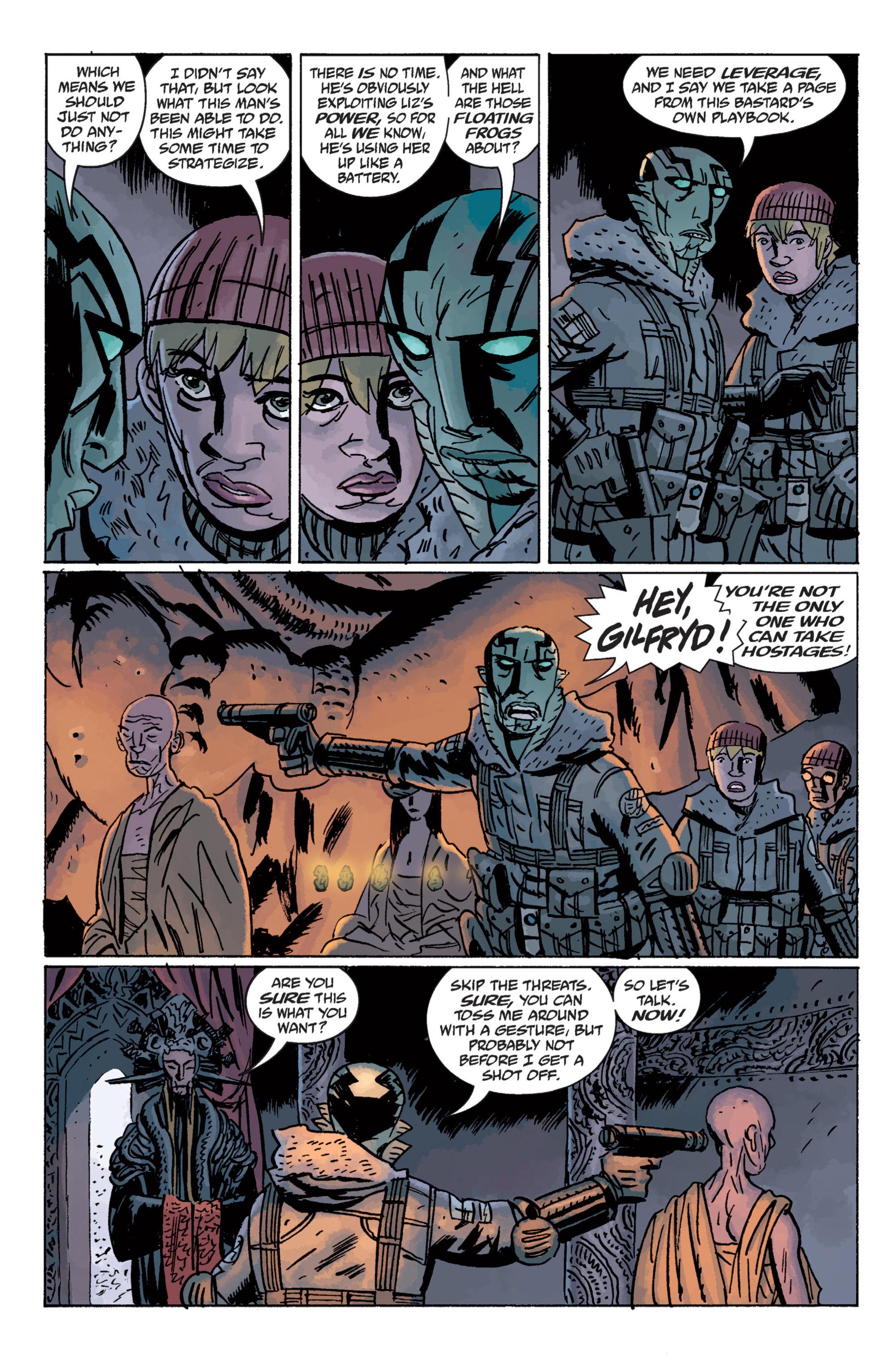 Read online B.P.R.D. (2003) comic -  Issue # TPB 11 - 109