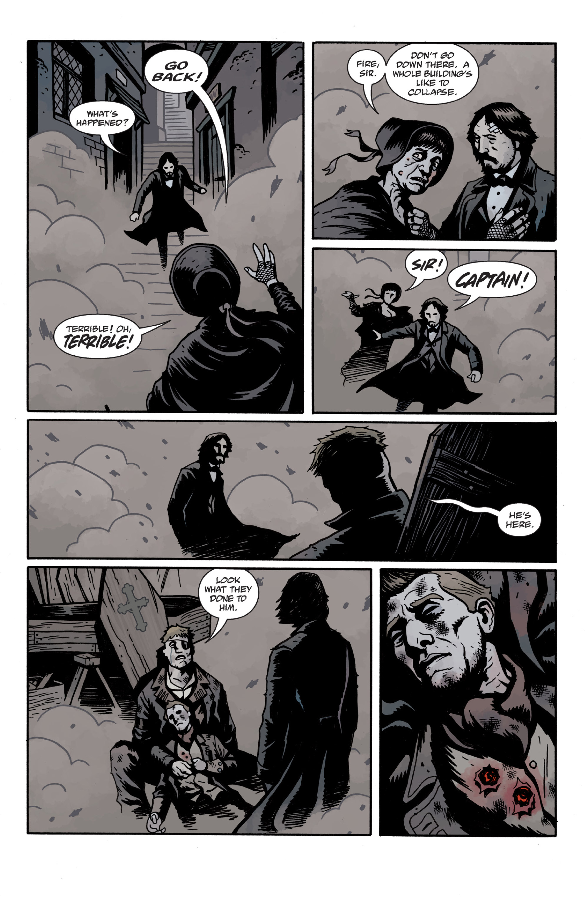 Read online Sir Edward Grey, Witchfinder: In the Service of Angels comic -  Issue # TPB - 119