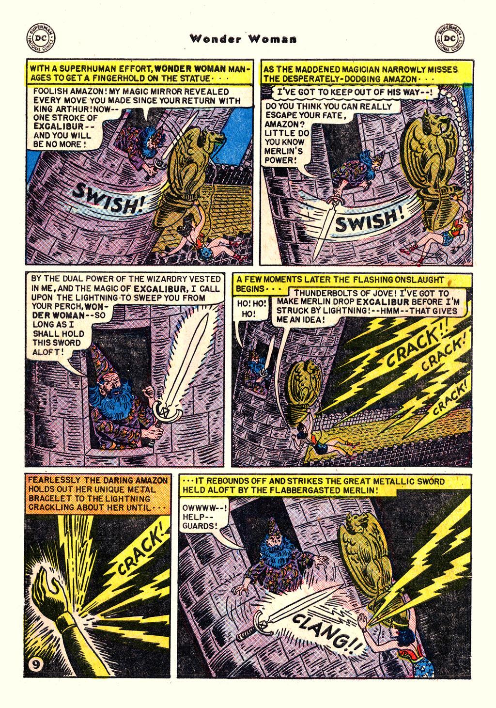 Read online Wonder Woman (1942) comic -  Issue #54 - 11