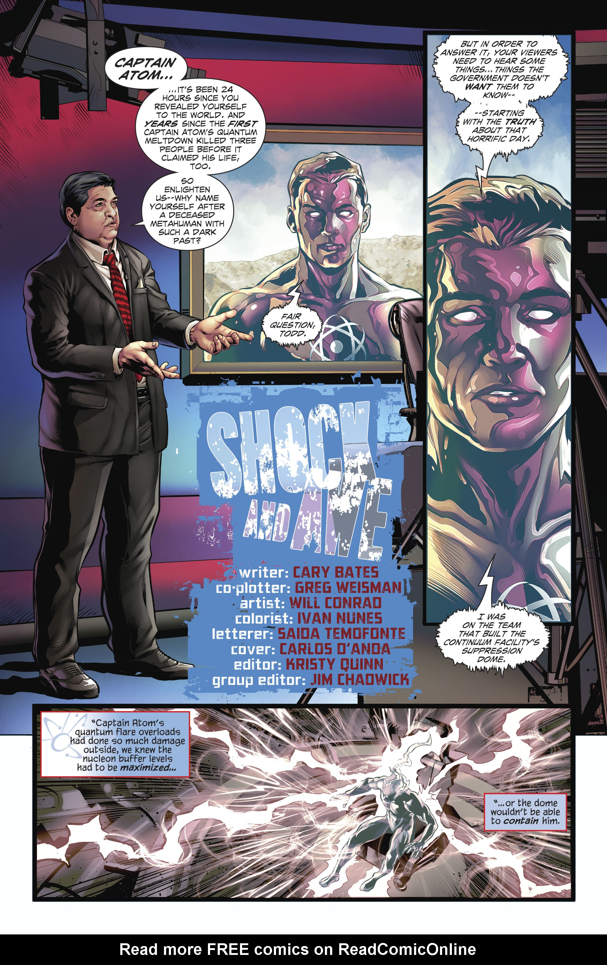 Read online The Fall and Rise of Captain Atom comic -  Issue #4 - 3