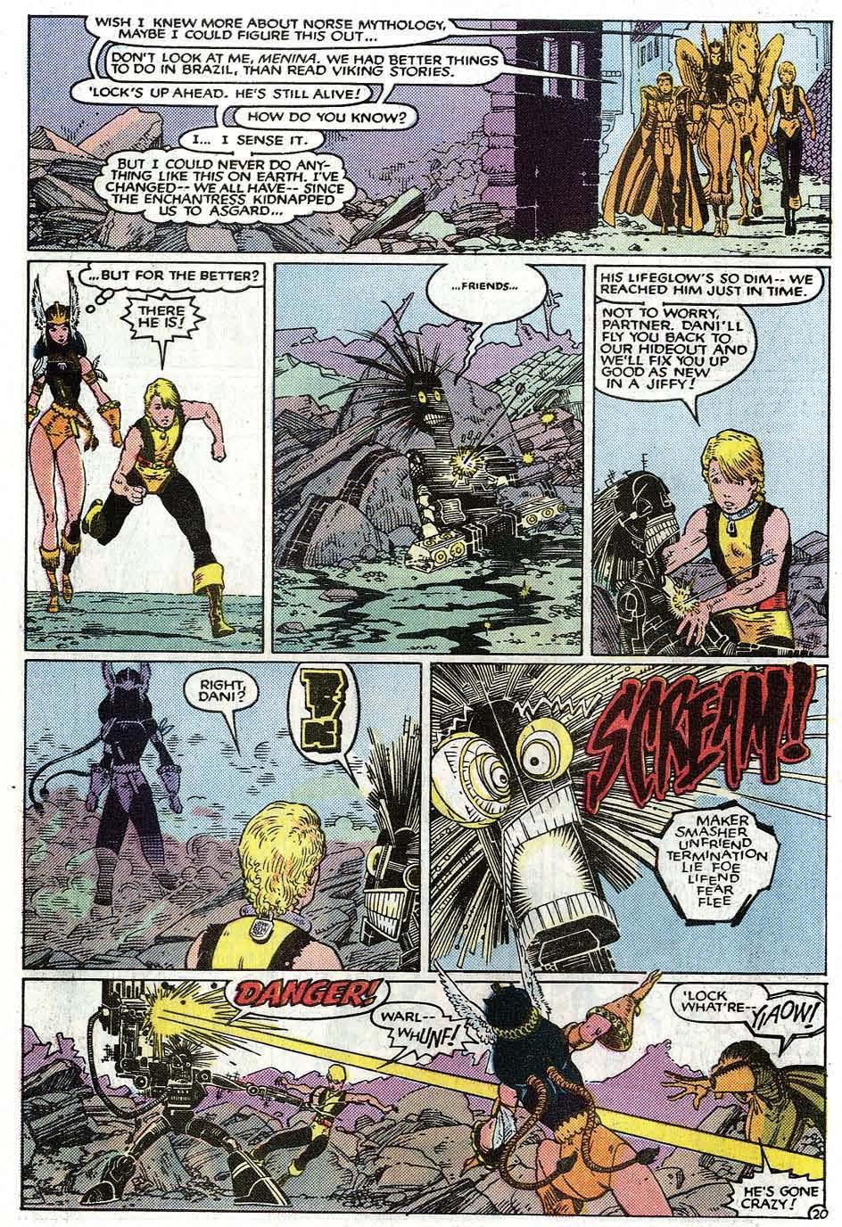 Read online Uncanny X-Men (1963) comic -  Issue # _Annual 9 - 22