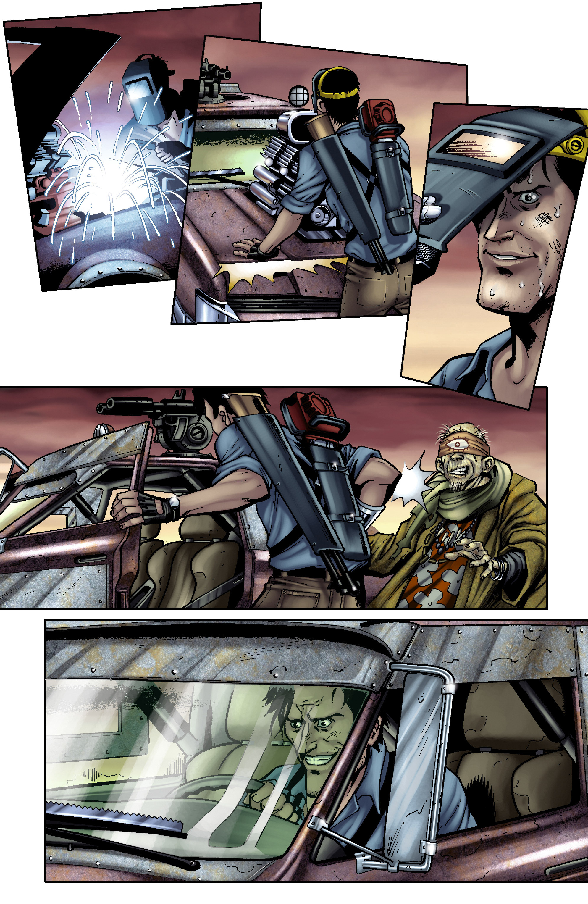Read online Army of Darkness: From the Ashes comic -  Issue #Army of Darkness: From the Ashes TPB - 31