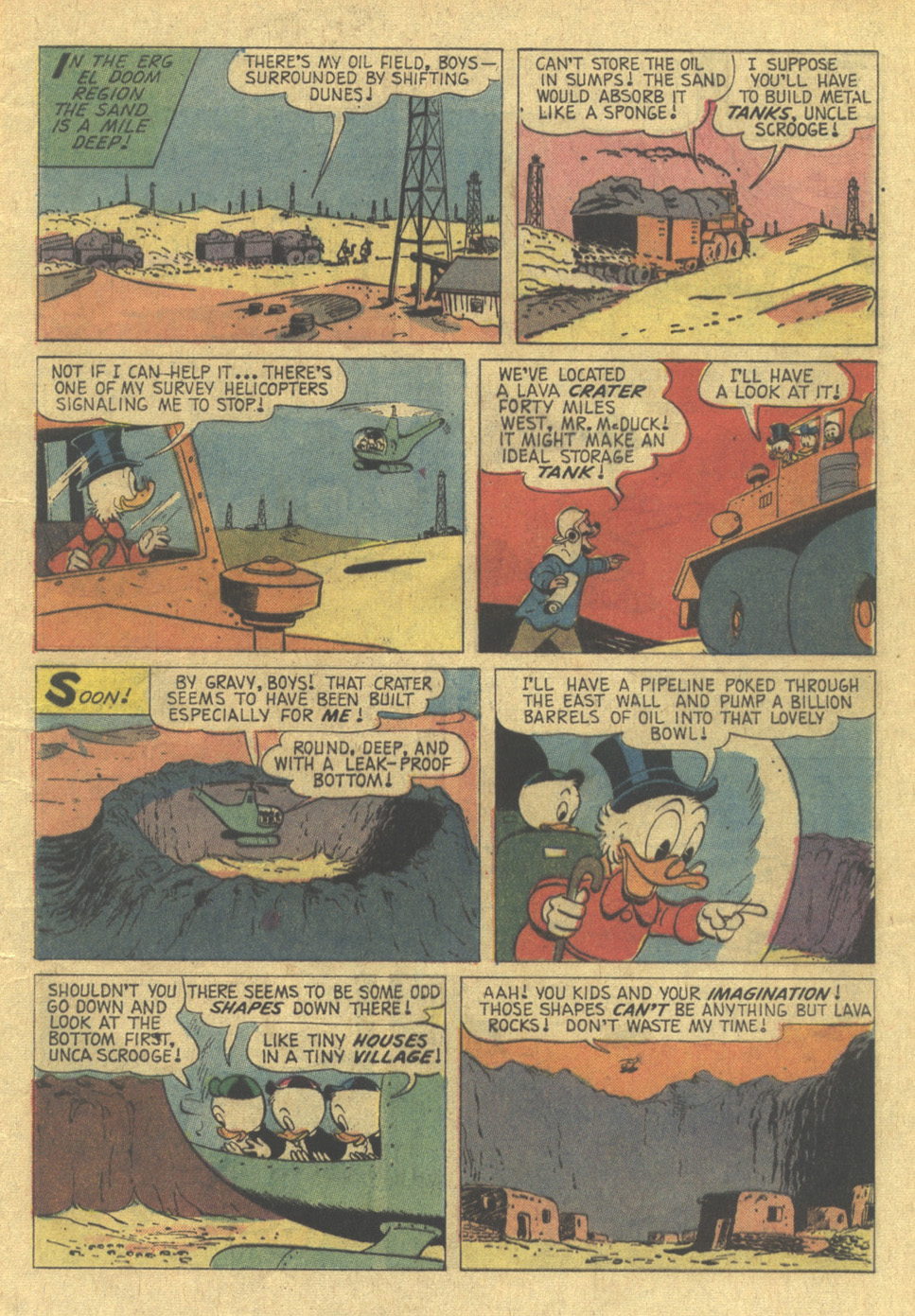 Read online Uncle Scrooge (1953) comic -  Issue #100 - 4