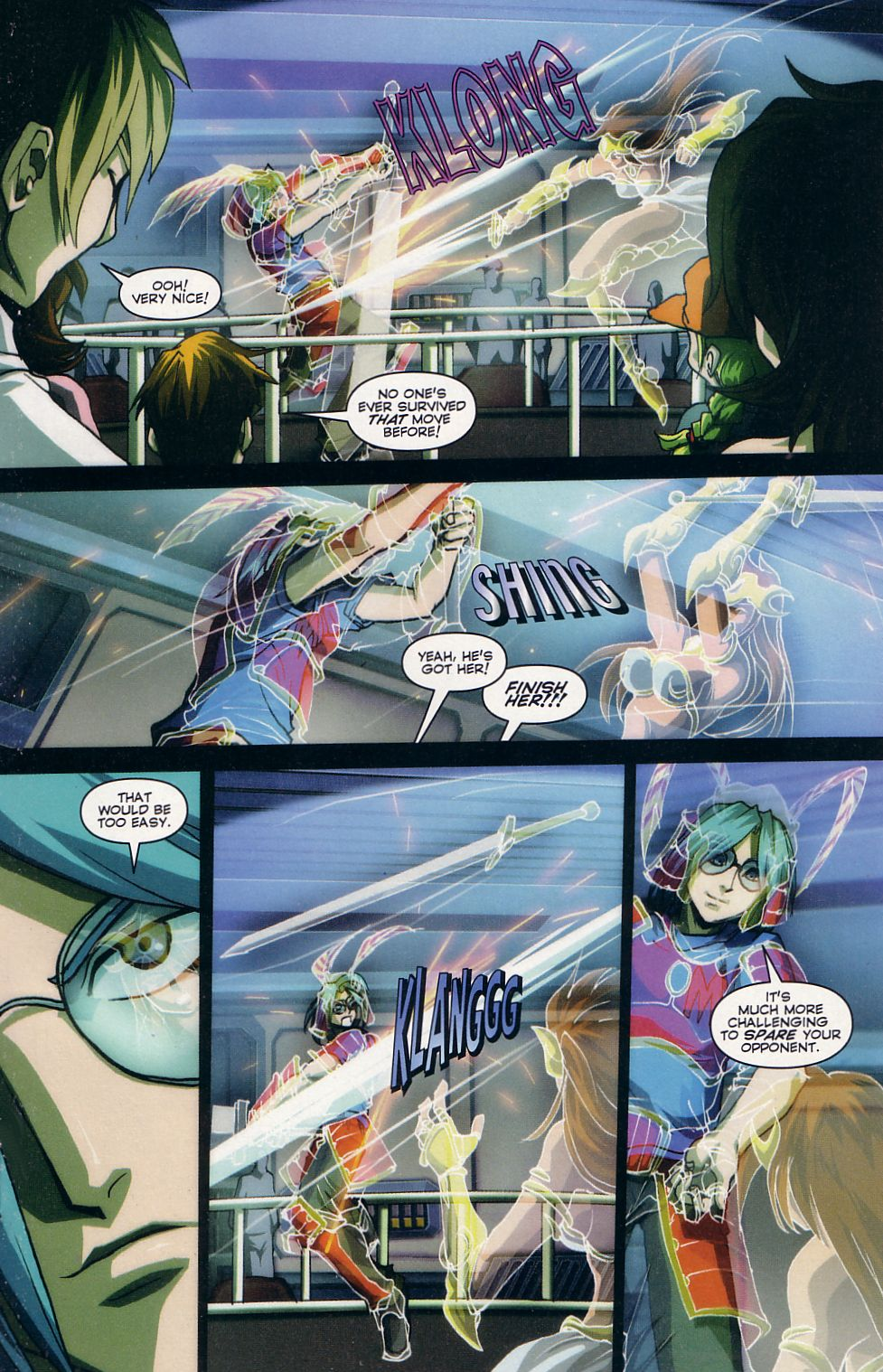 Read online Robotech: Love and War comic -  Issue #2 - 13