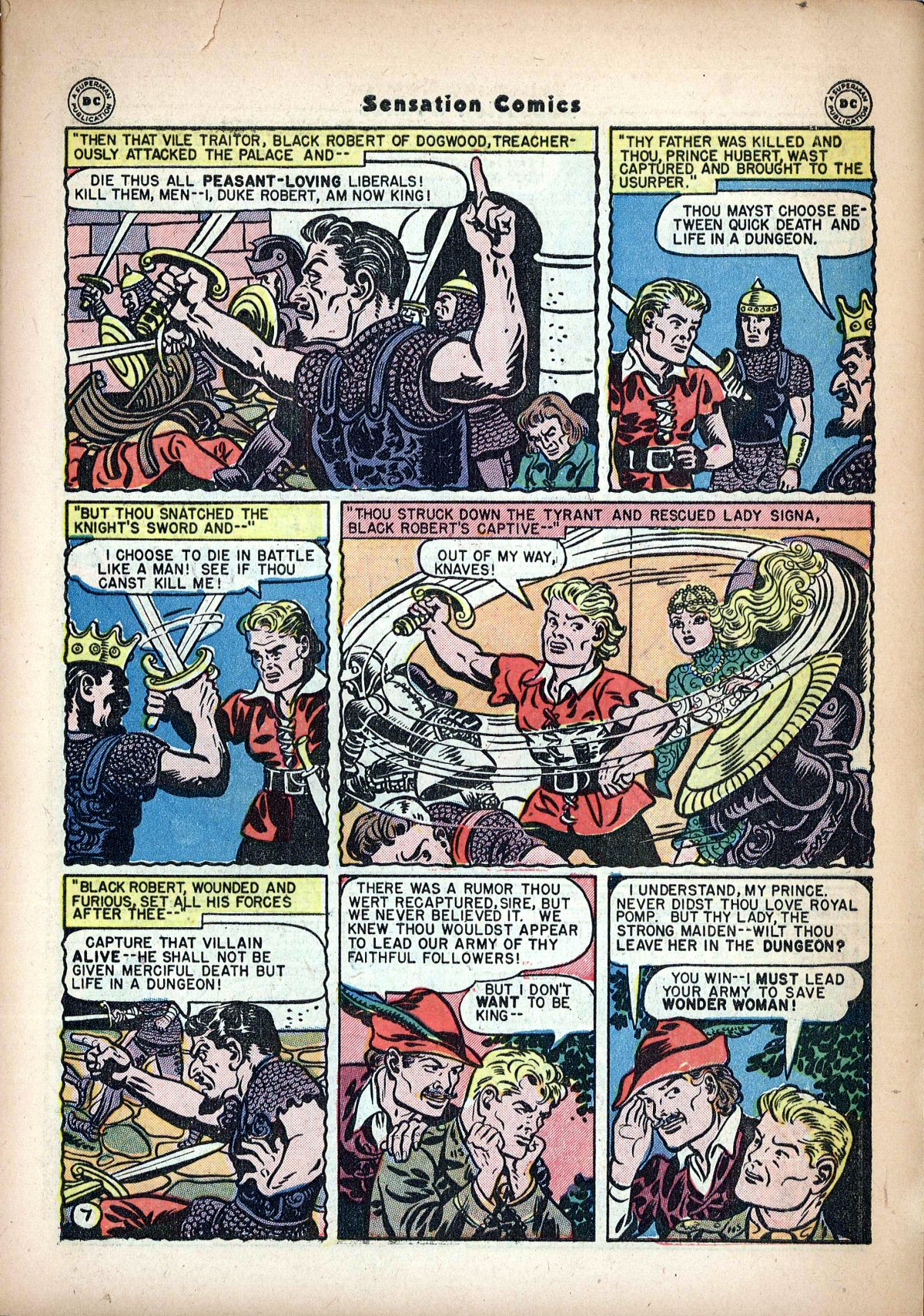 Read online Sensation (Mystery) Comics comic -  Issue #62 - 9