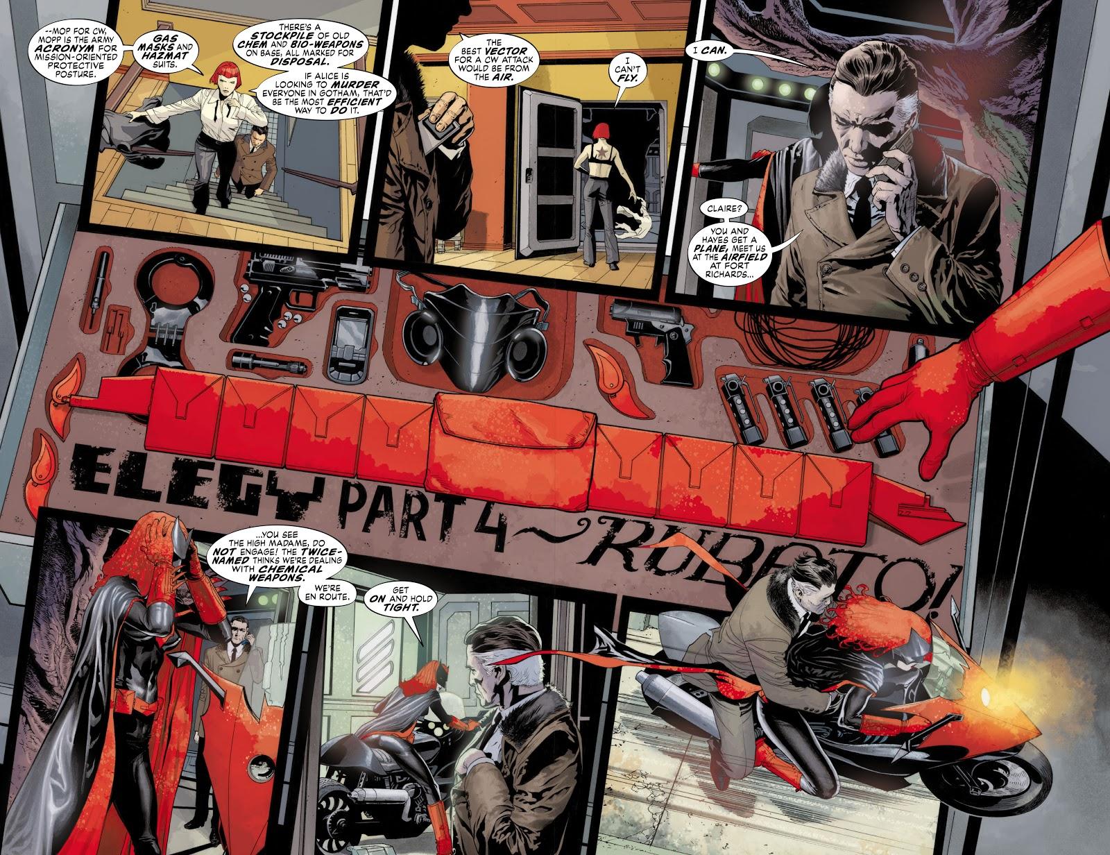 Read online Detective Comics (1937) comic -  Issue # _TPB Batwoman - Elegy (Part 1) - 68