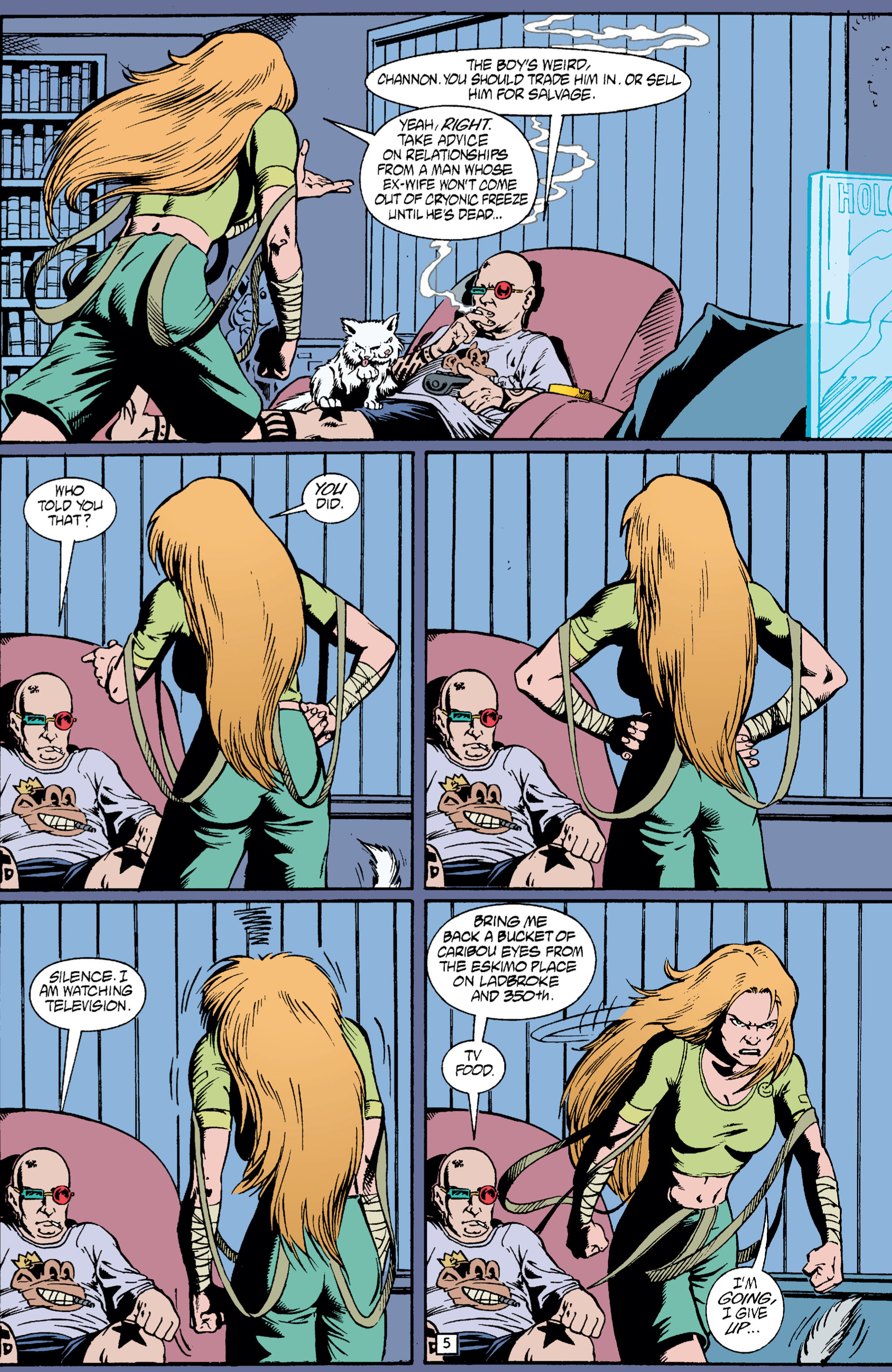 Read online Transmetropolitan comic -  Issue #5 - 6