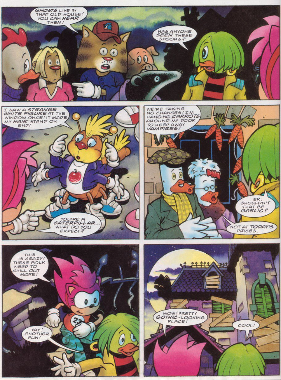 Read online Sonic the Comic comic -  Issue #116 - 23
