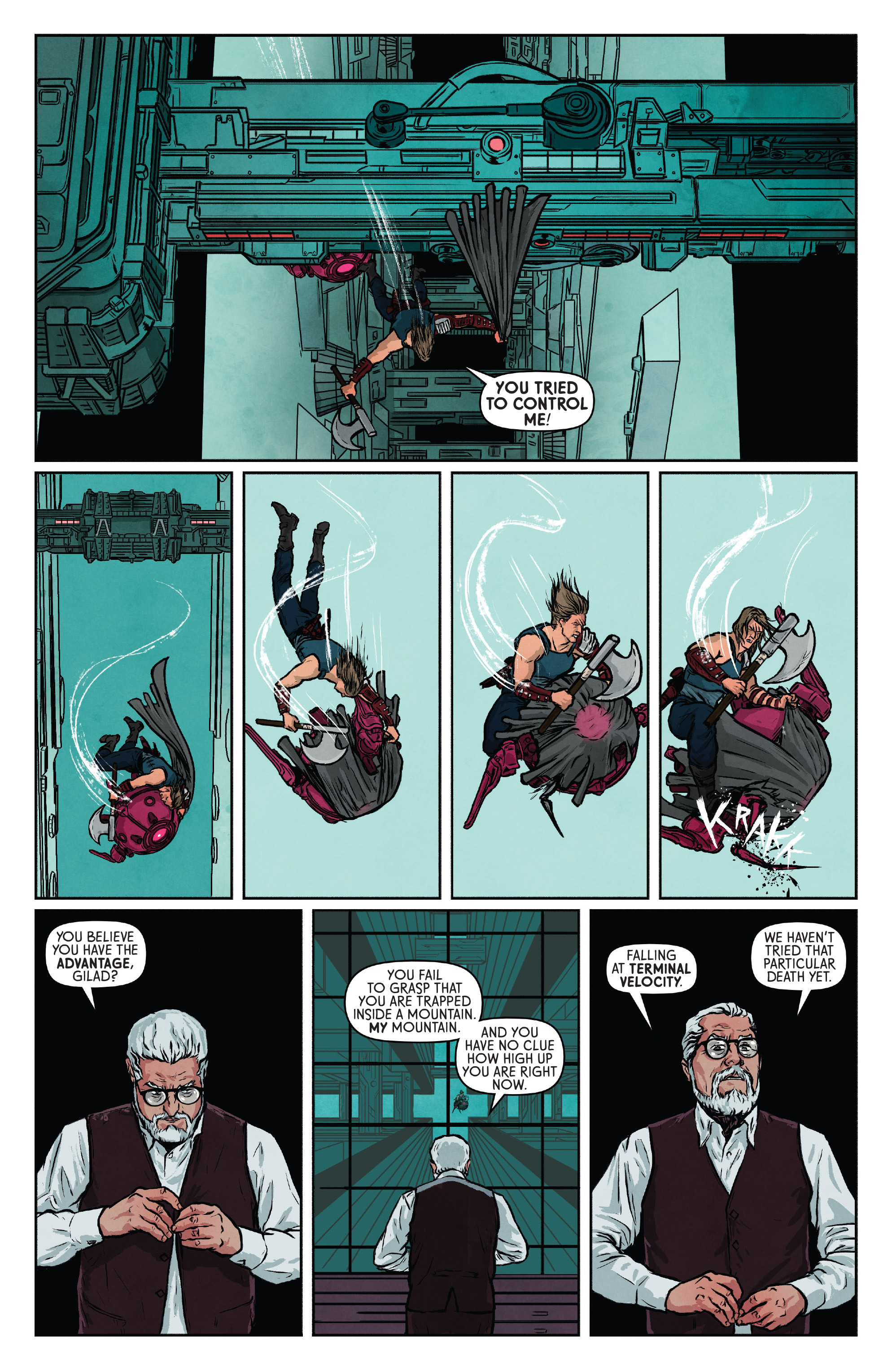 Read online Wrath of the Eternal Warrior comic -  Issue #9 - 8
