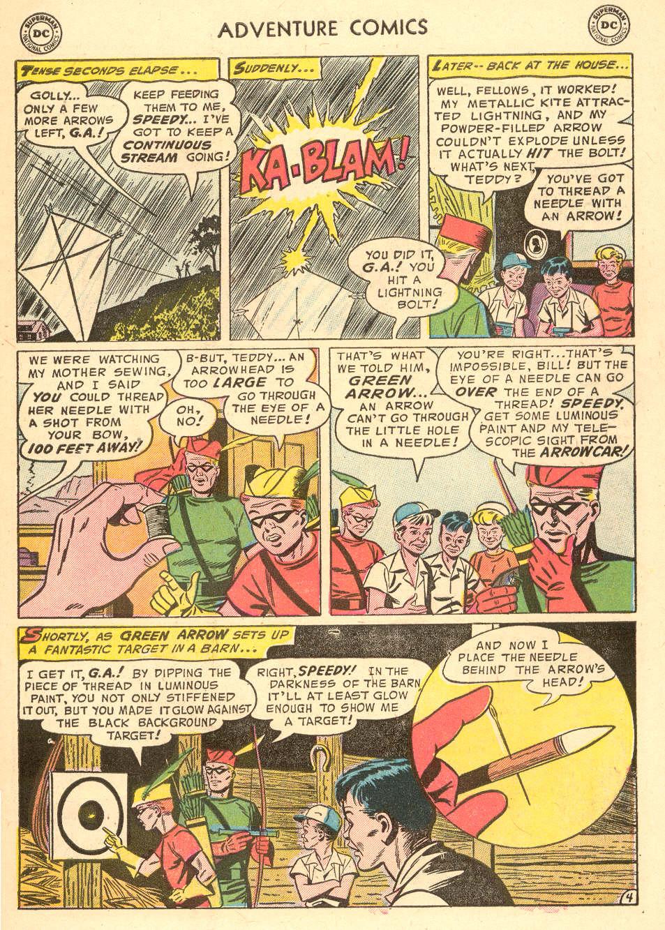 Read online Adventure Comics (1938) comic -  Issue #212 - 31