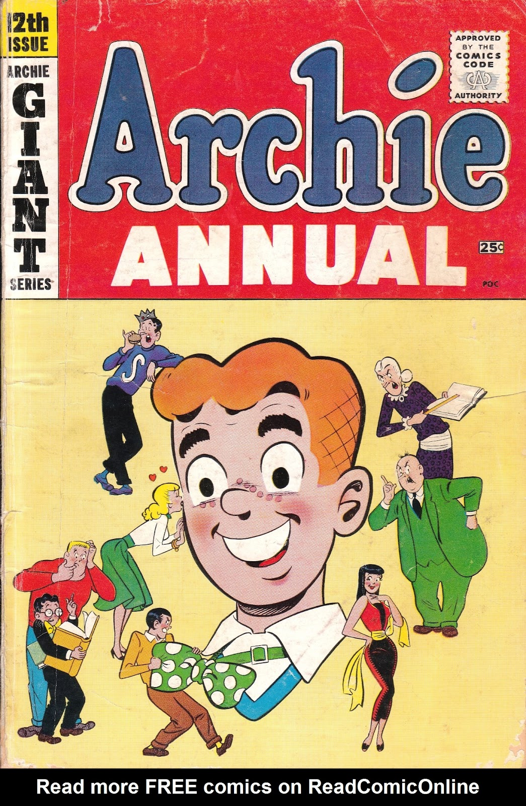 Archie Annual issue 12 - Page 1