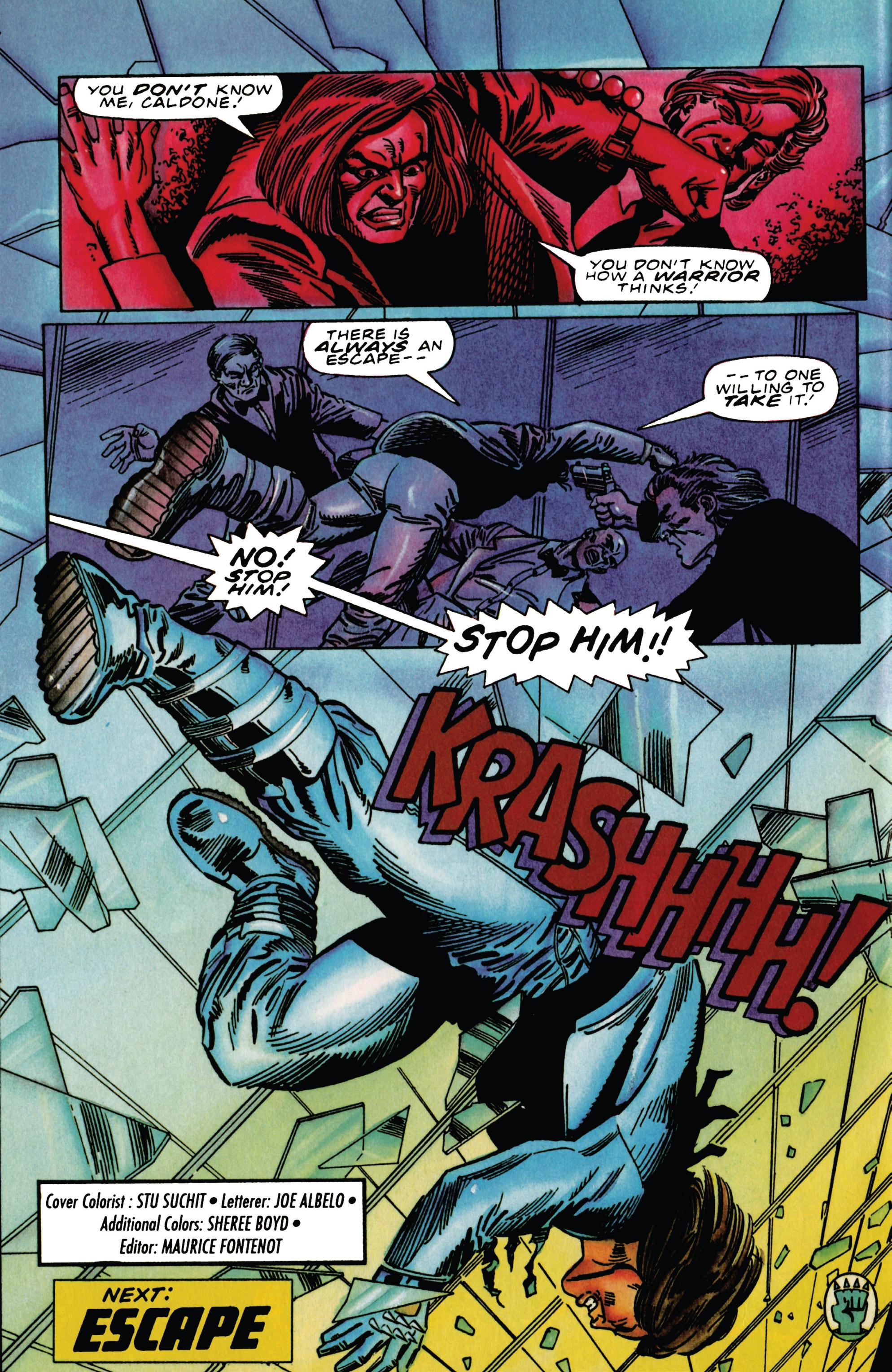 Read online Eternal Warrior (1992) comic -  Issue #29 - 22