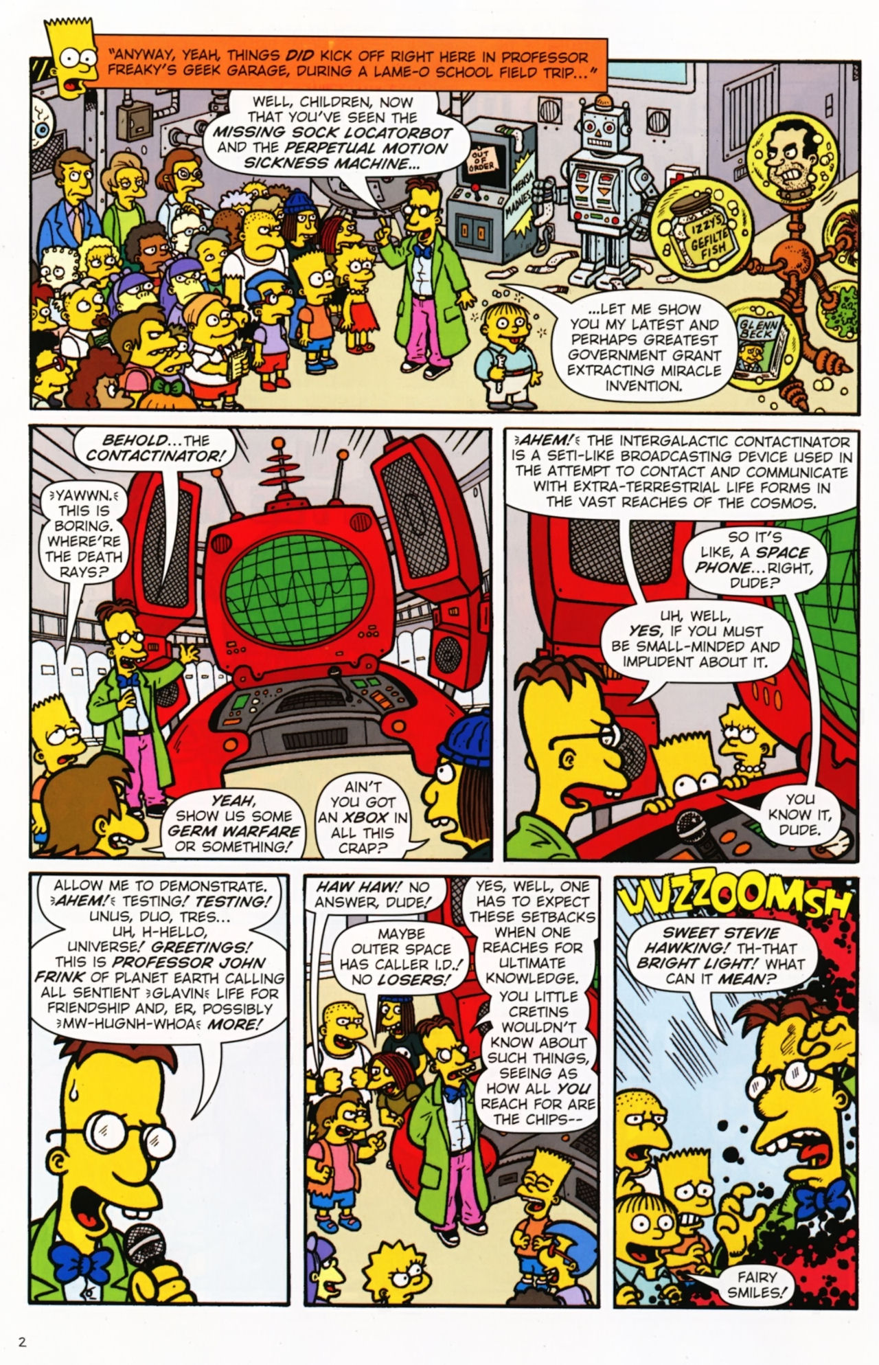 Read online Treehouse of Horror comic -  Issue #16 - 5