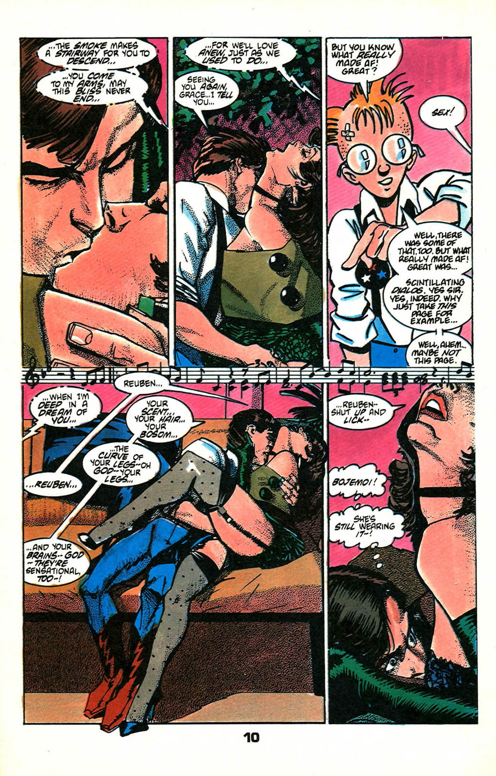 Read online American Flagg! comic -  Issue #46 - 12