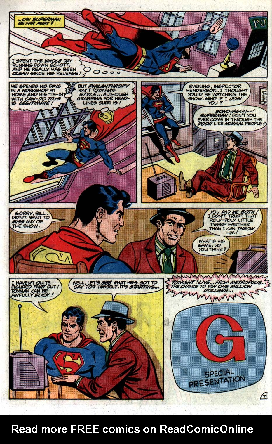 Read online Action Comics (1938) comic -  Issue #561 - 8