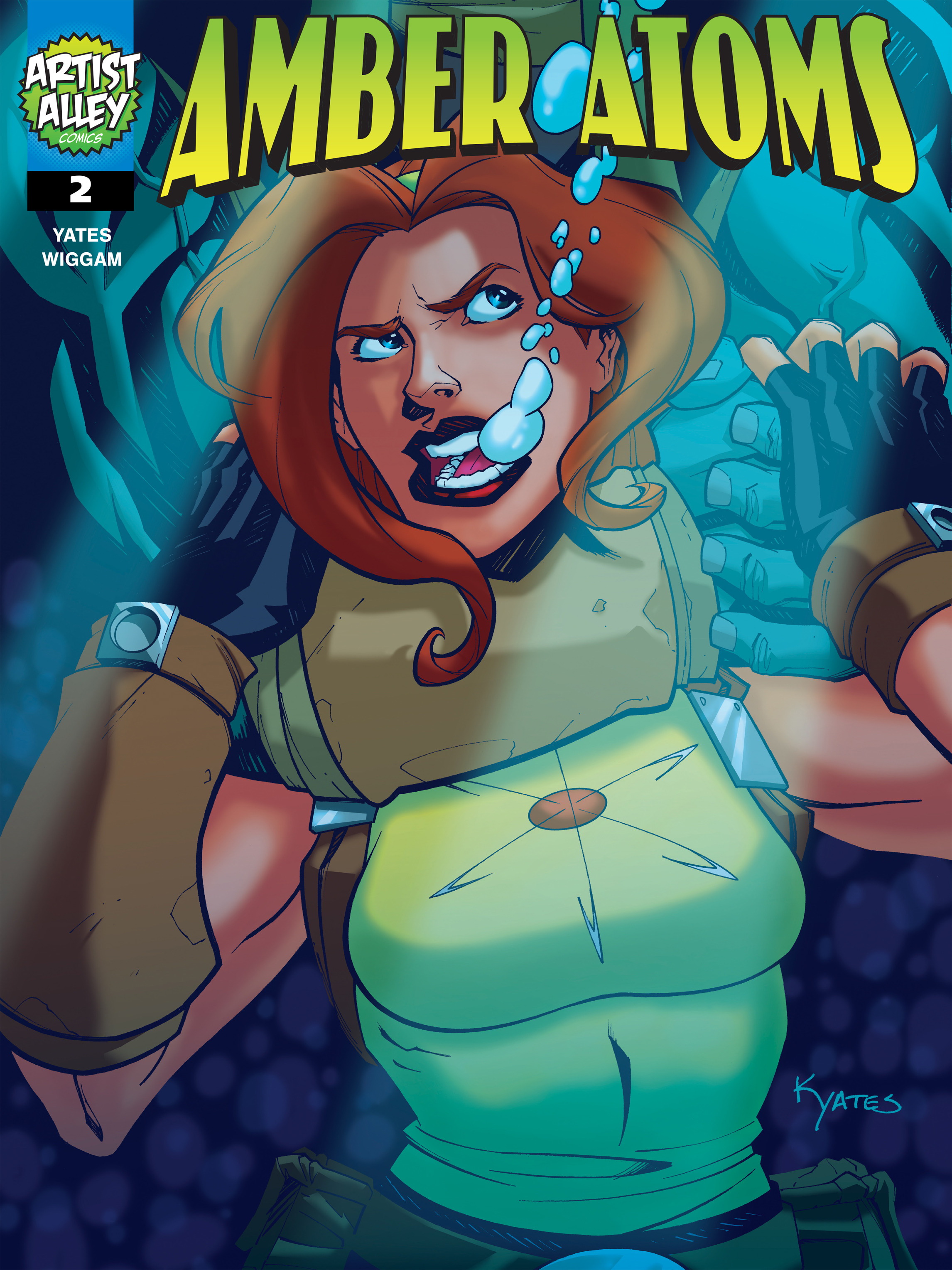 Read online Amber Atoms comic -  Issue #2 - 1