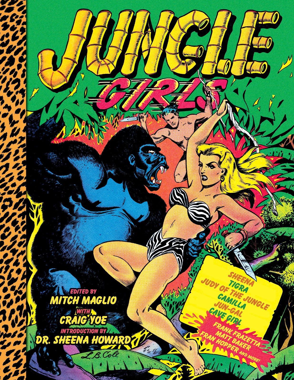 Read online Jungle Girls comic -  Issue # TPB (Part 1) - 1