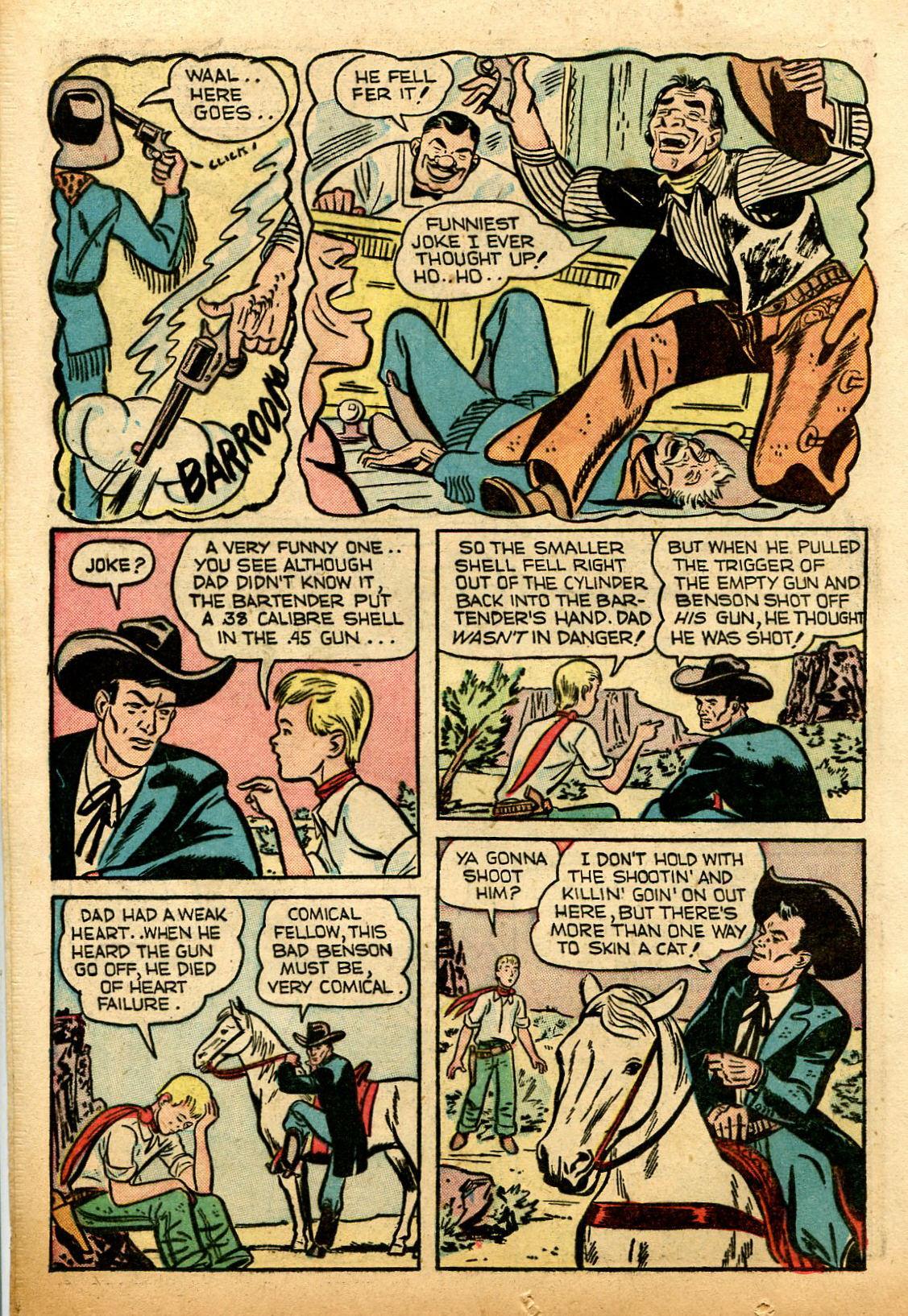Read online Shadow Comics comic -  Issue #74 - 20