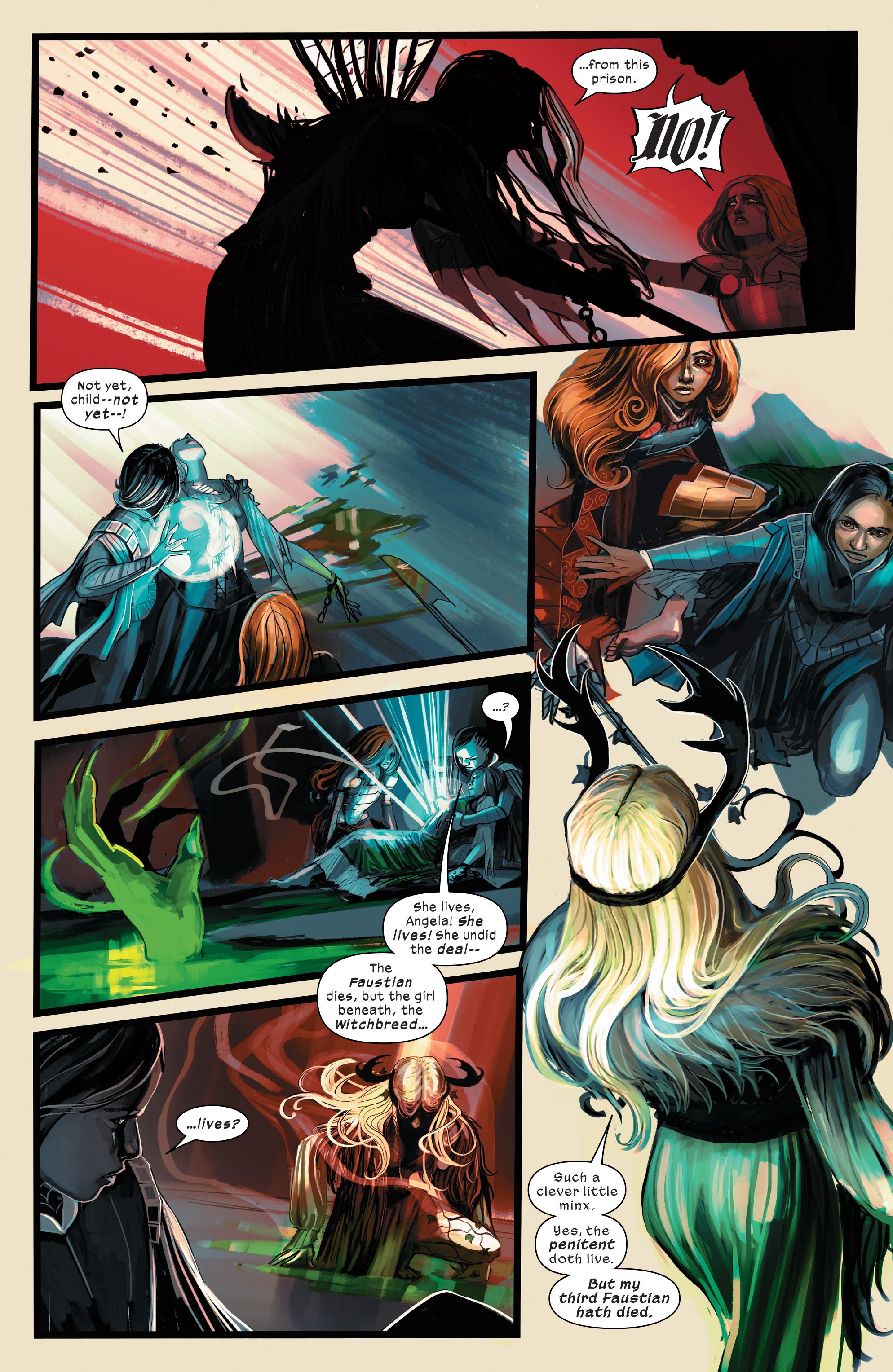 Read online 1602 Witch Hunter Angela comic -  Issue #3 - 16