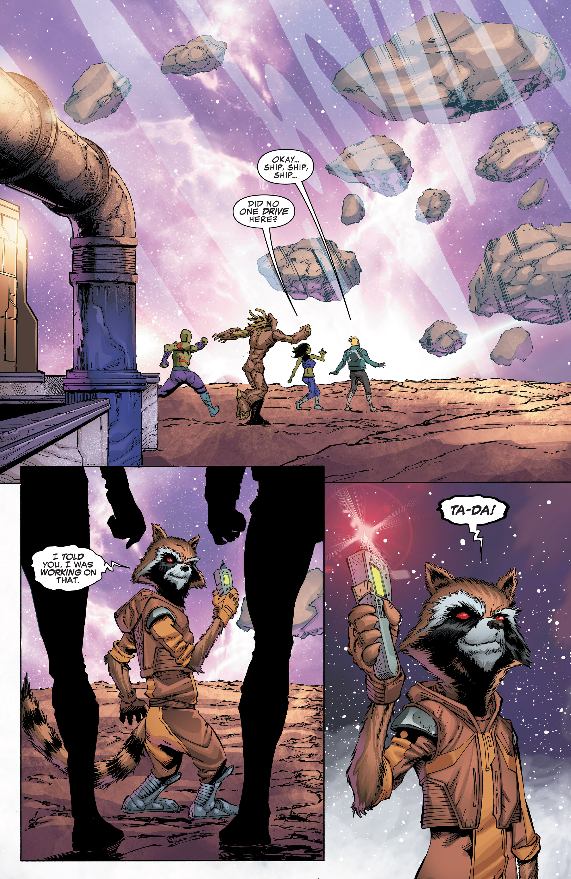 Read online Guardians of the Galaxy: Mission Breakout comic -  Issue # Full - 27
