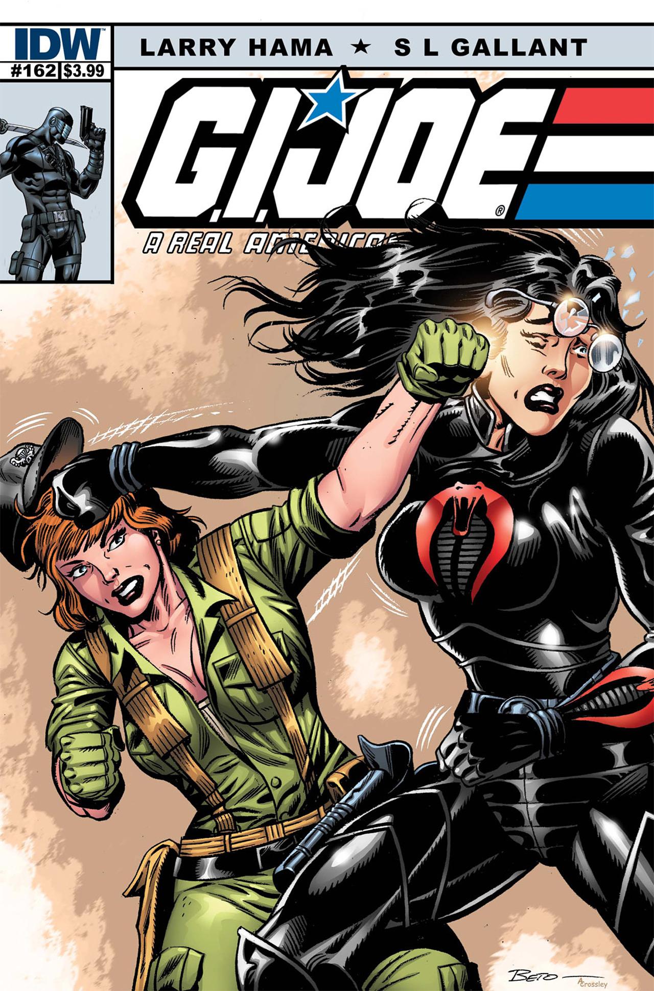 G.I. Joe: A Real American Hero 162 Page 1
