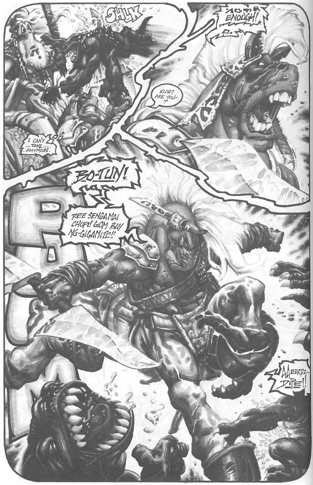 Read online Animal Mystic comic -  Issue #4 - 21