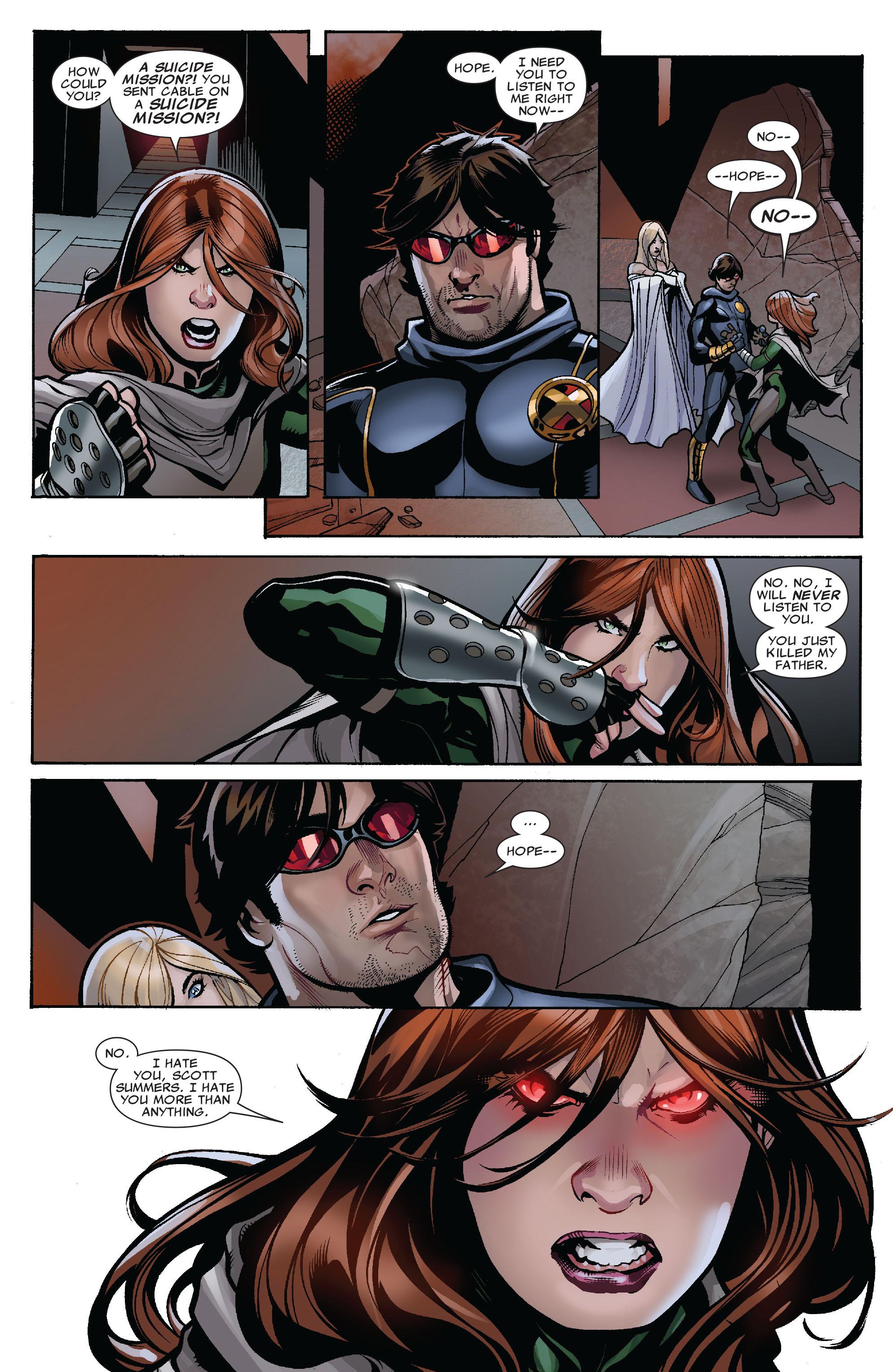 Read online Uncanny X-Men (1963) comic -  Issue #525 - 4