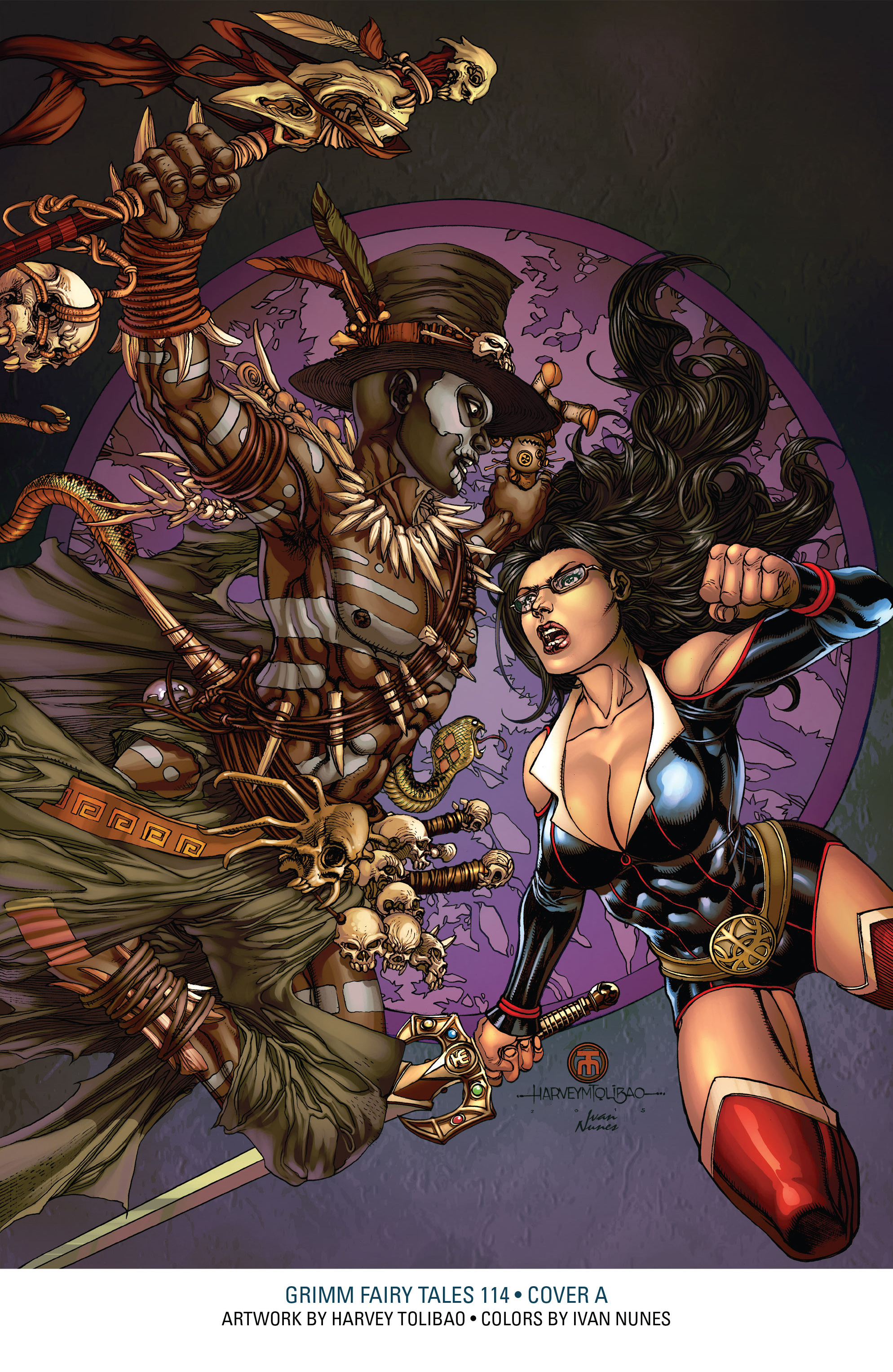 Read online Grimm Fairy Tales: Arcane Acre comic -  Issue # TPB 3 - 146