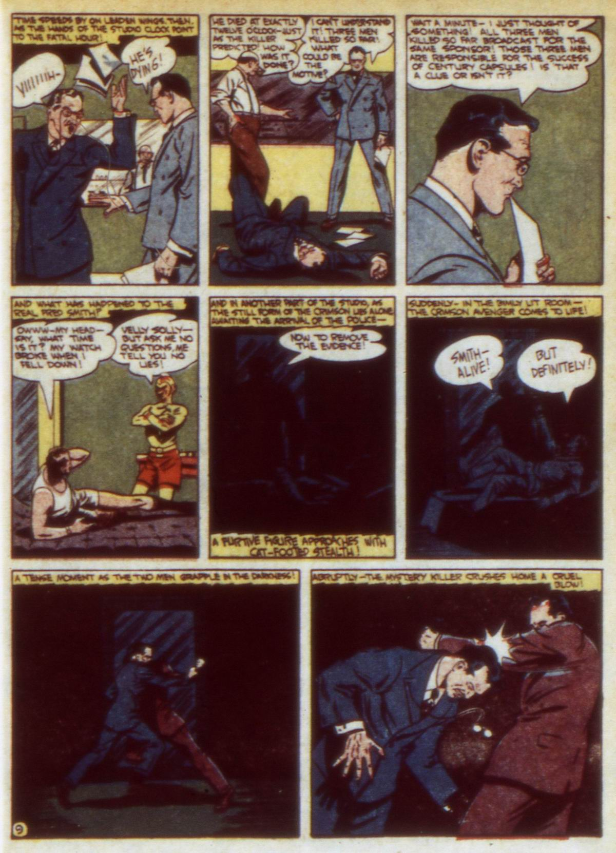 Read online Detective Comics (1937) comic -  Issue #60 - 39