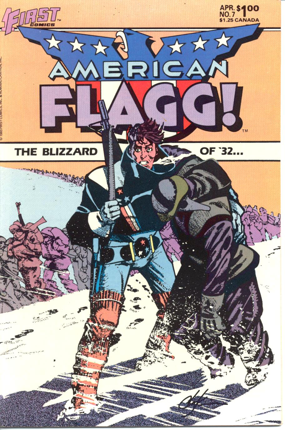 Read online American Flagg! comic -  Issue #7 - 1