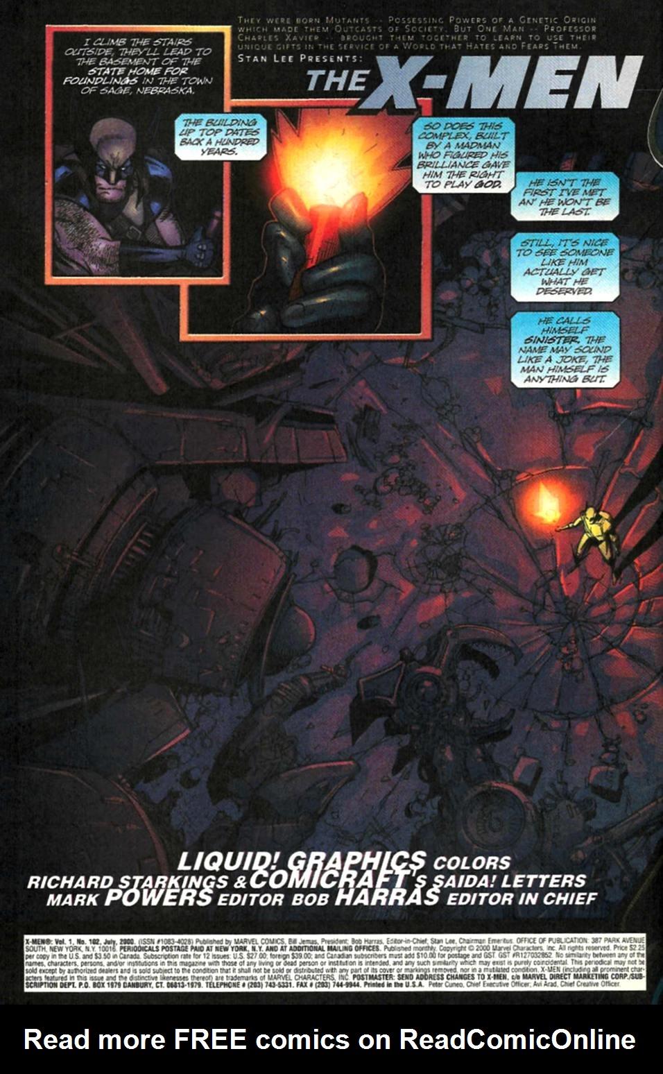 X-Men (1991) 102 Page 2