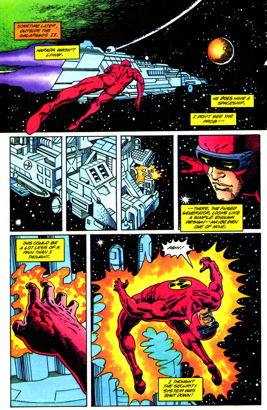 Read online Solar, Man of the Atom comic -  Issue #41 - 13