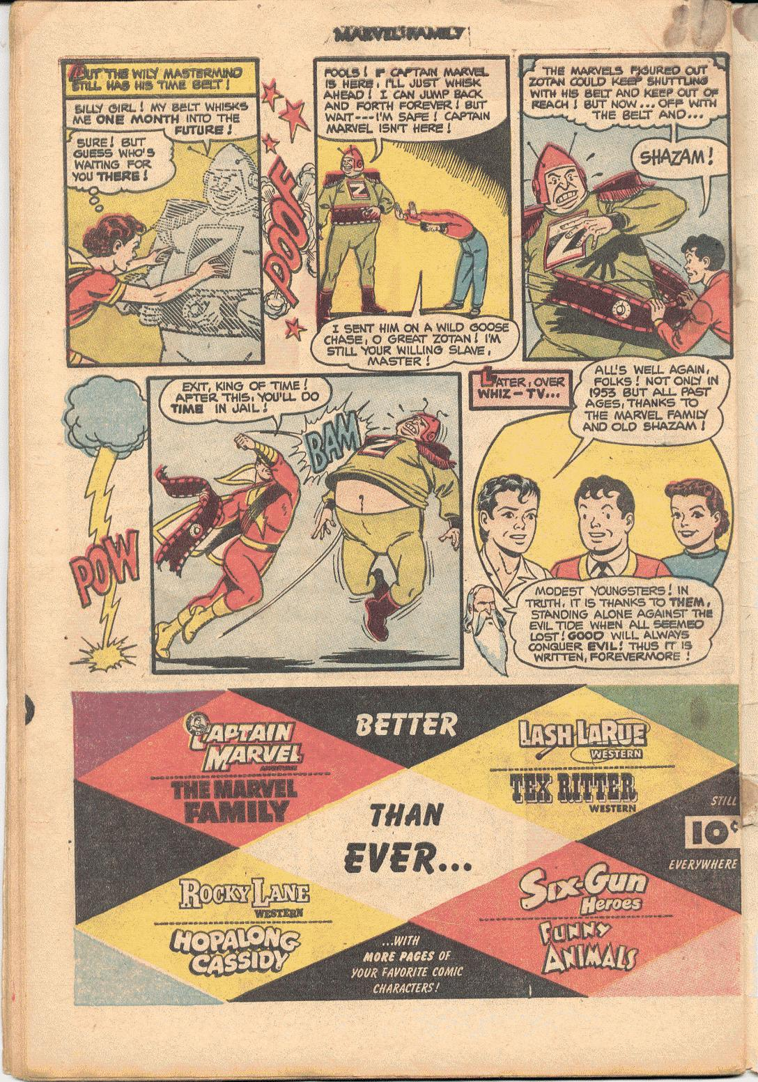 The Marvel Family issue 88 - Page 34