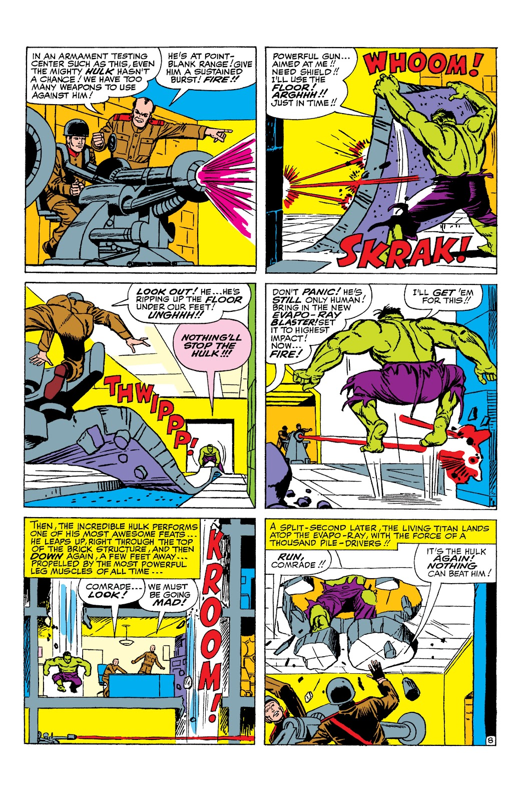 Read online Marvel Masterworks: The Incredible Hulk comic -  Issue # TPB 2 (Part 1) - 87