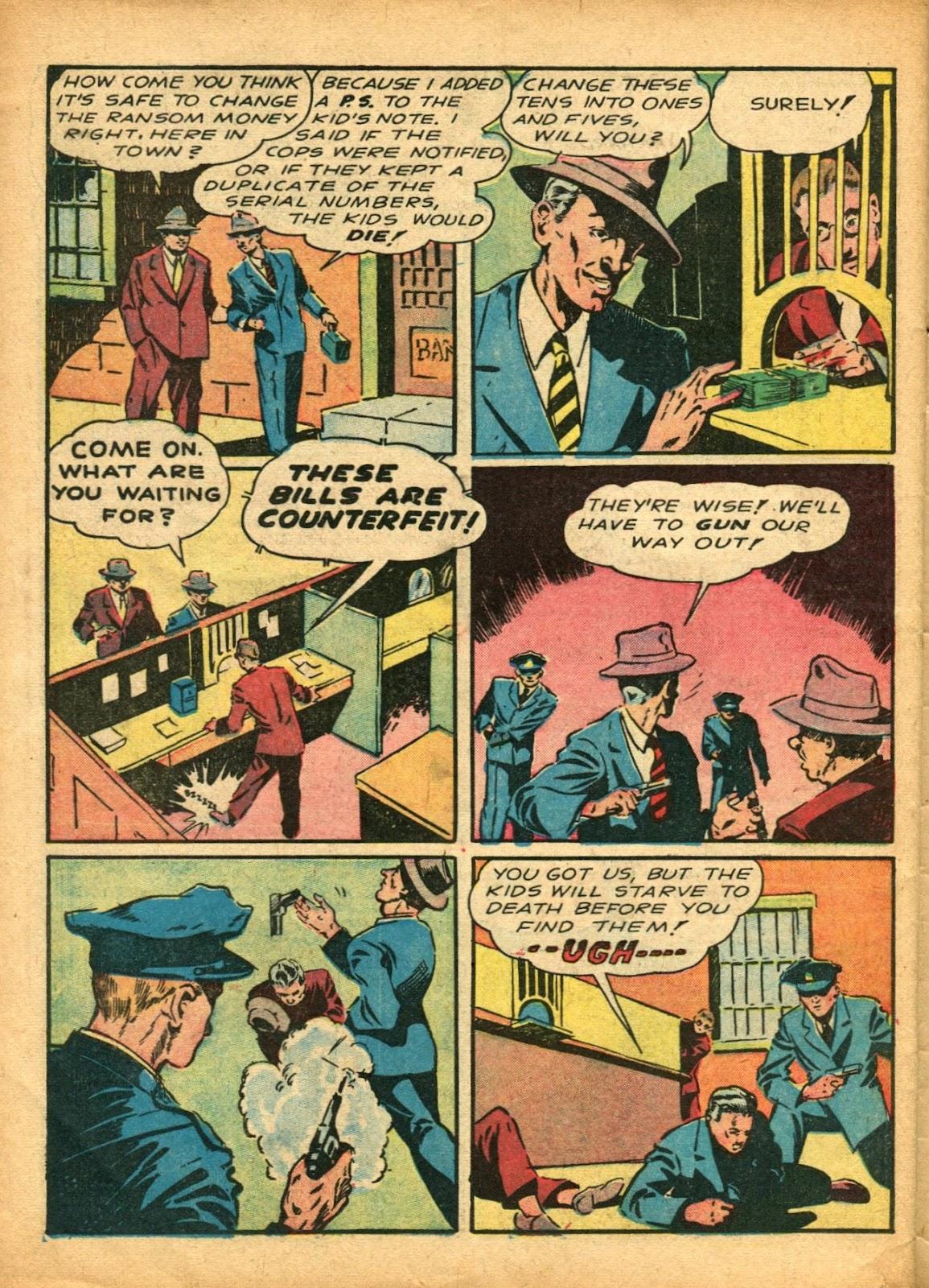 Read online Super-Magician Comics comic -  Issue #5 - 57