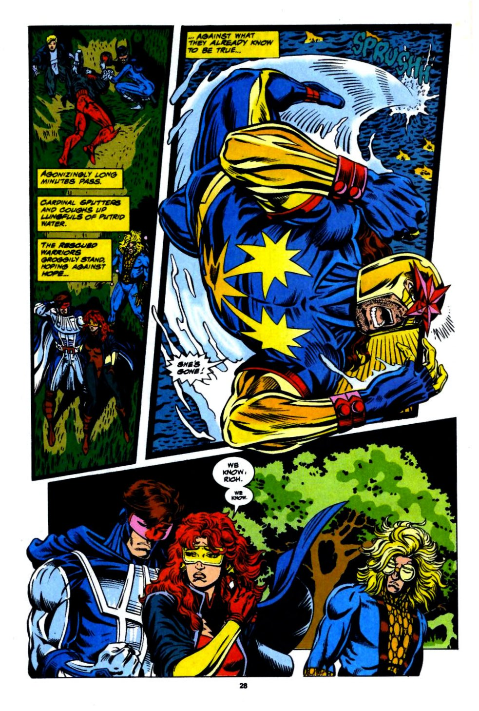 The New Warriors Issue #56 #60 - English 21