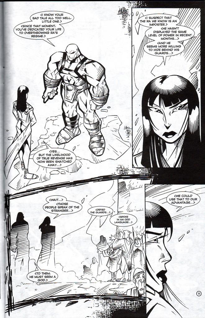 Read online Stargate: One Nation Under Ra comic -  Issue # Full - 13