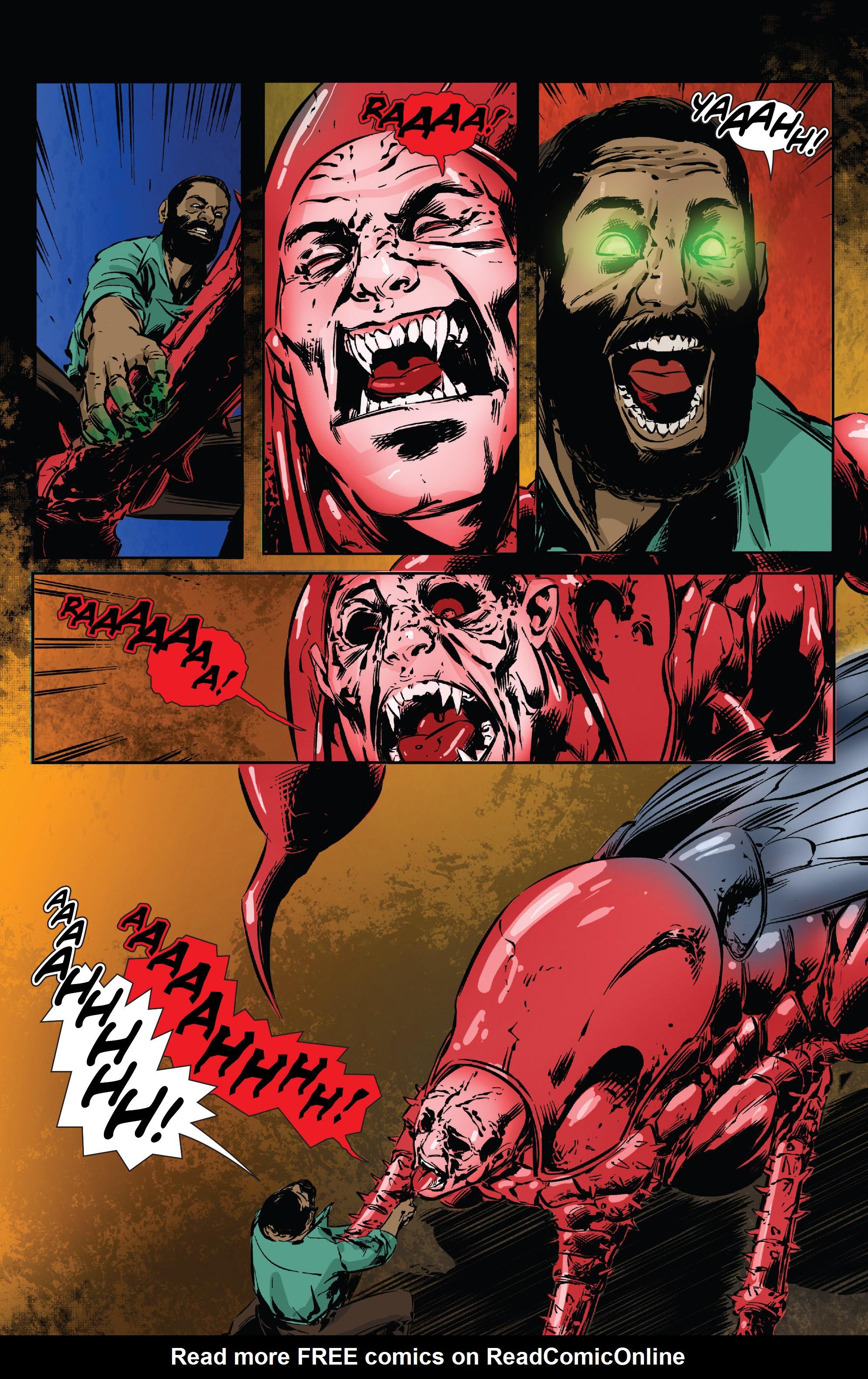 Read online Clive Barker's Hellraiser: The Dark Watch comic -  Issue # TPB 3 - 51