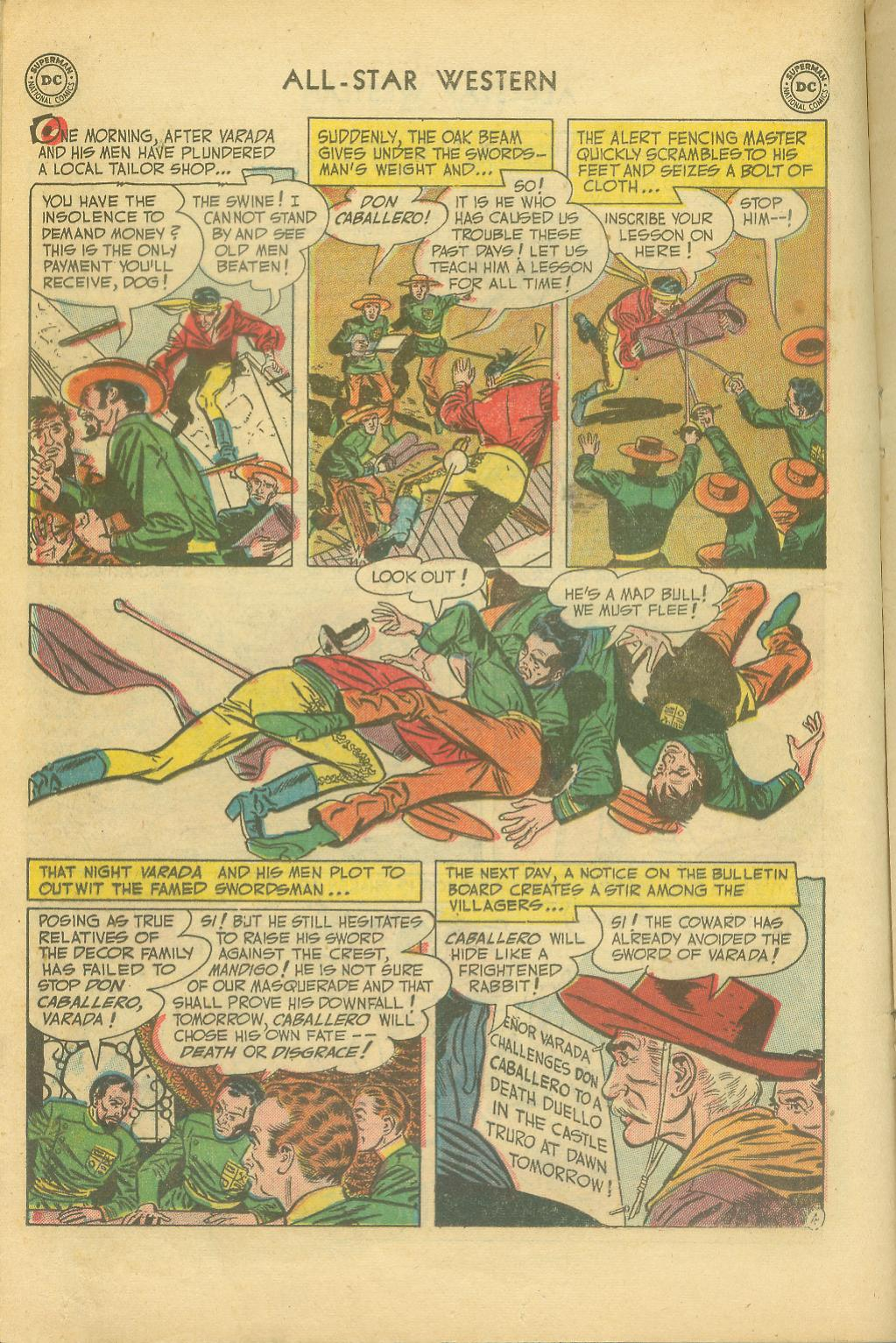 Read online All-Star Western (1951) comic -  Issue #65 - 16