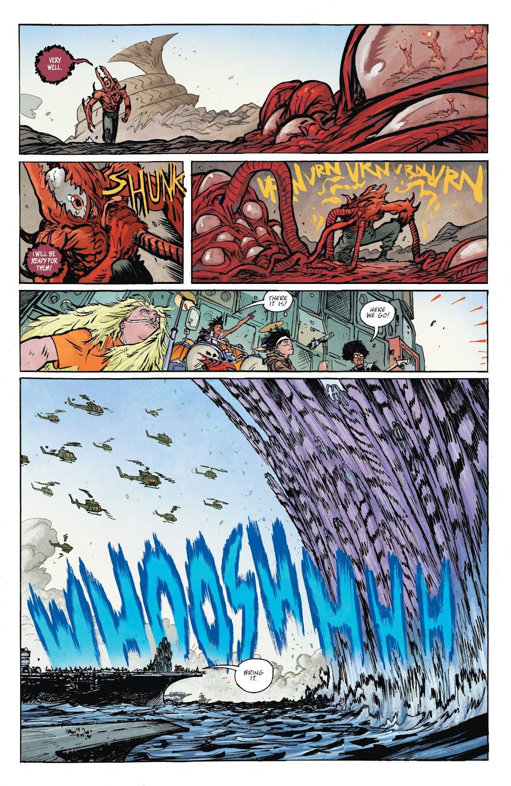 Read online Murder Falcon comic -  Issue #8 - 6
