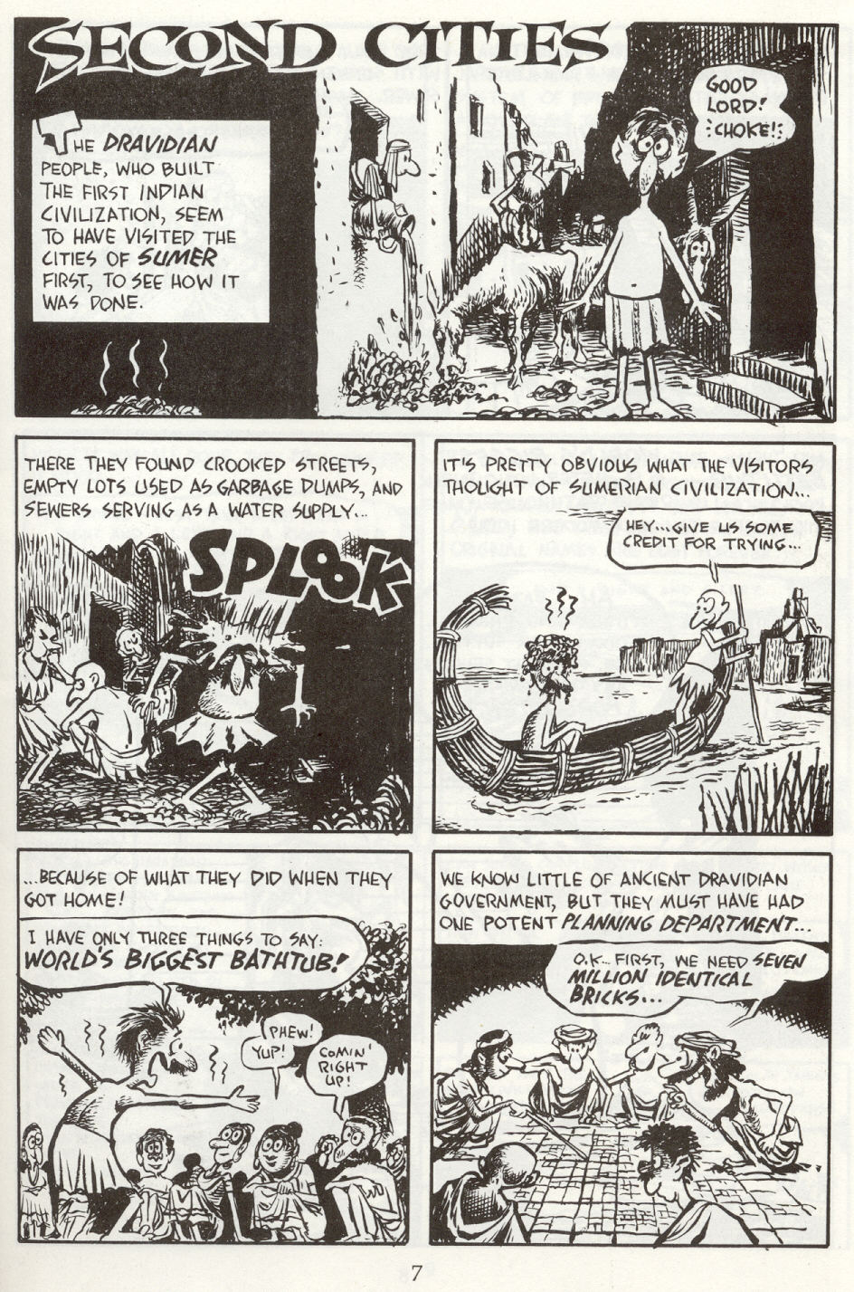 Read online The Cartoon History of the Universe comic -  Issue #8 - 10