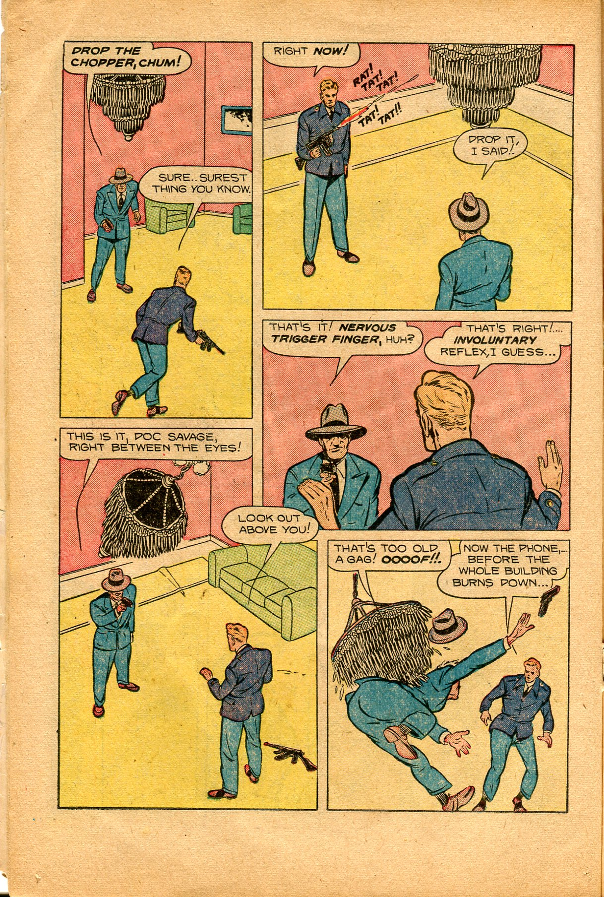 Read online Shadow Comics comic -  Issue #94 - 22