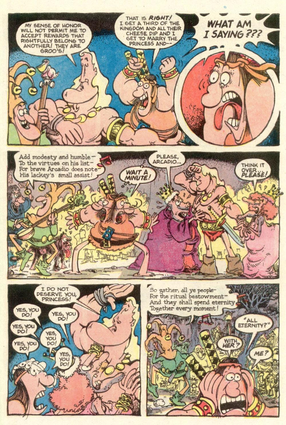 Read online Sergio Aragonés Groo the Wanderer comic -  Issue #11 - 23