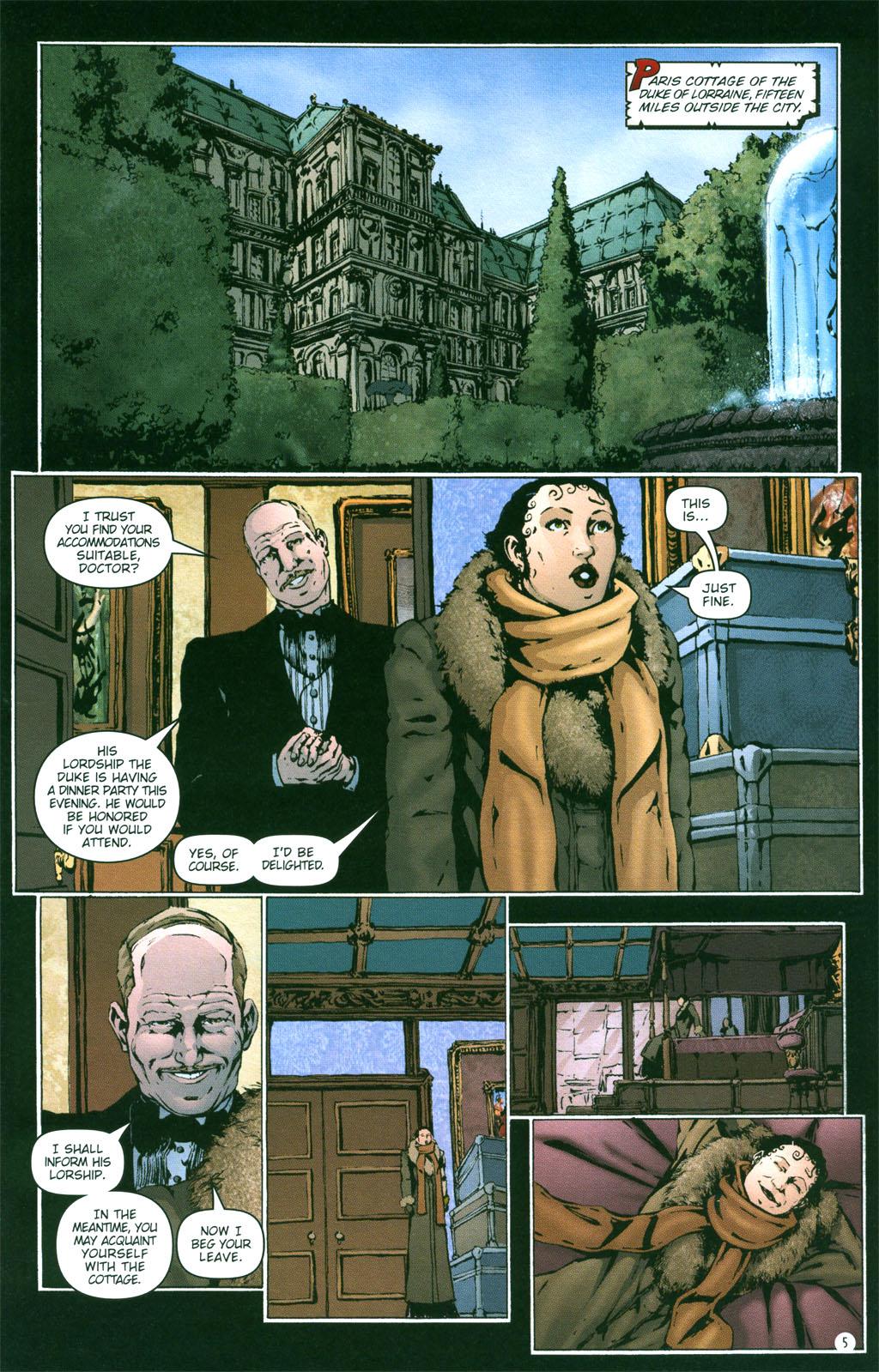 Read online Rex Mundi comic -  Issue #4 - 7