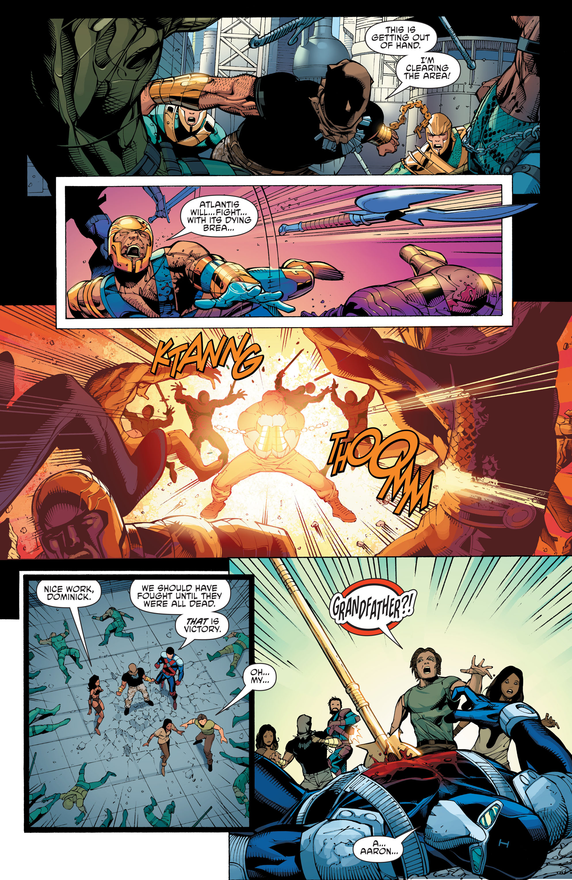 Read online Aquaman and the Others: Futures End comic -  Issue #Aquaman and the Others: Futures End Full - 12