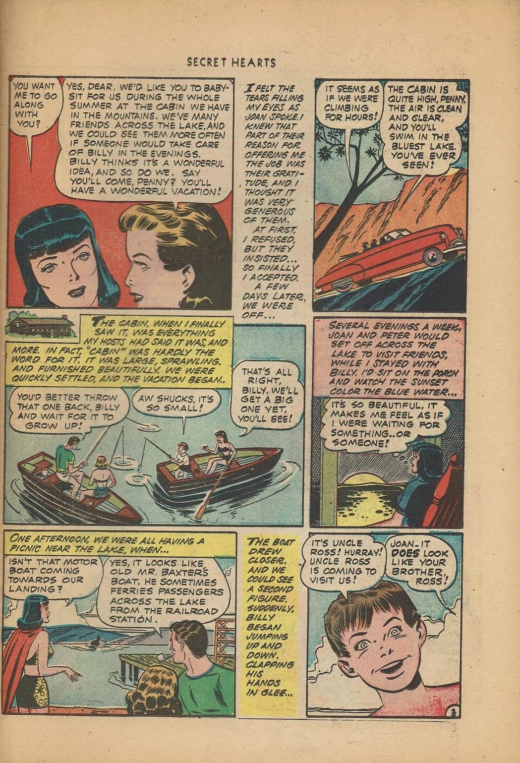 Read online Secret Hearts comic -  Issue #2 - 27