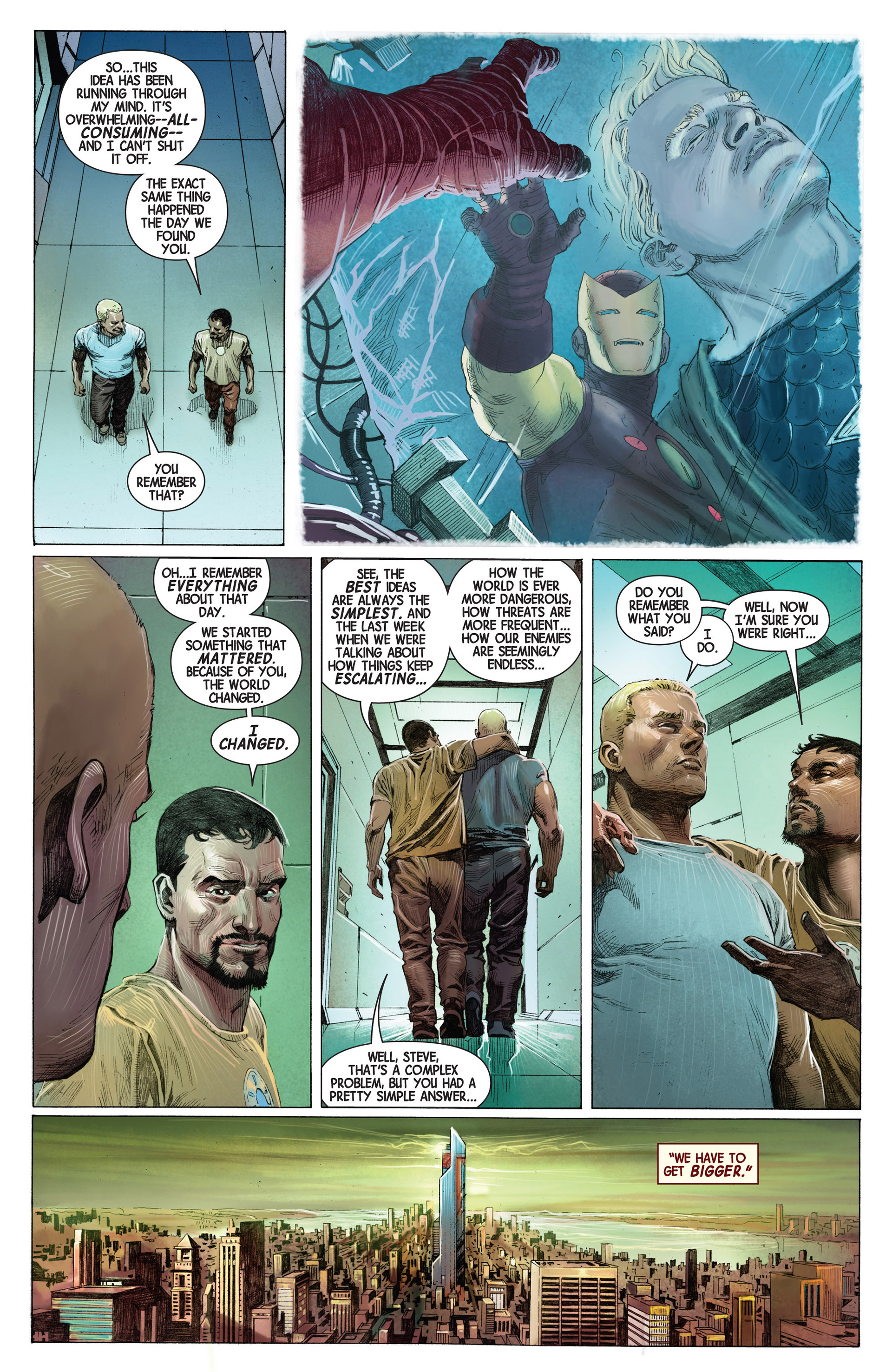 Read online Avengers (2013) comic -  Issue #1 - 8