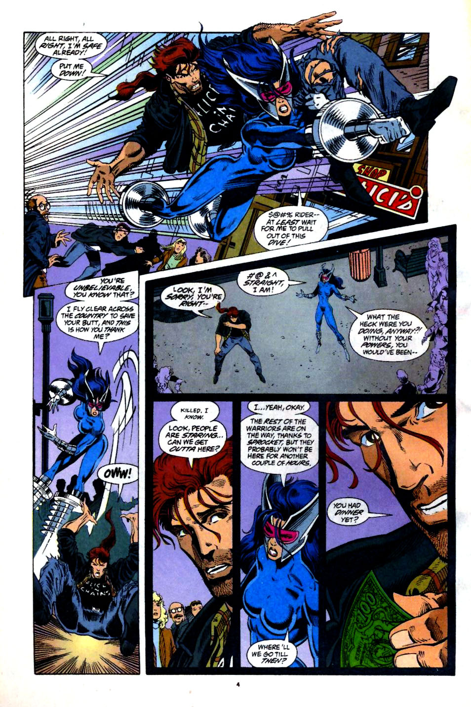 The New Warriors Issue #60 #64 - English 5