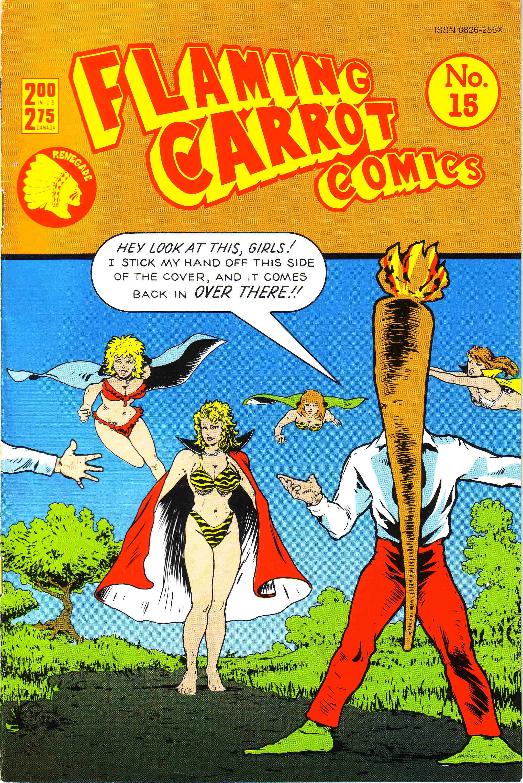 Flaming Carrot Comics (1984) 15 Page 1